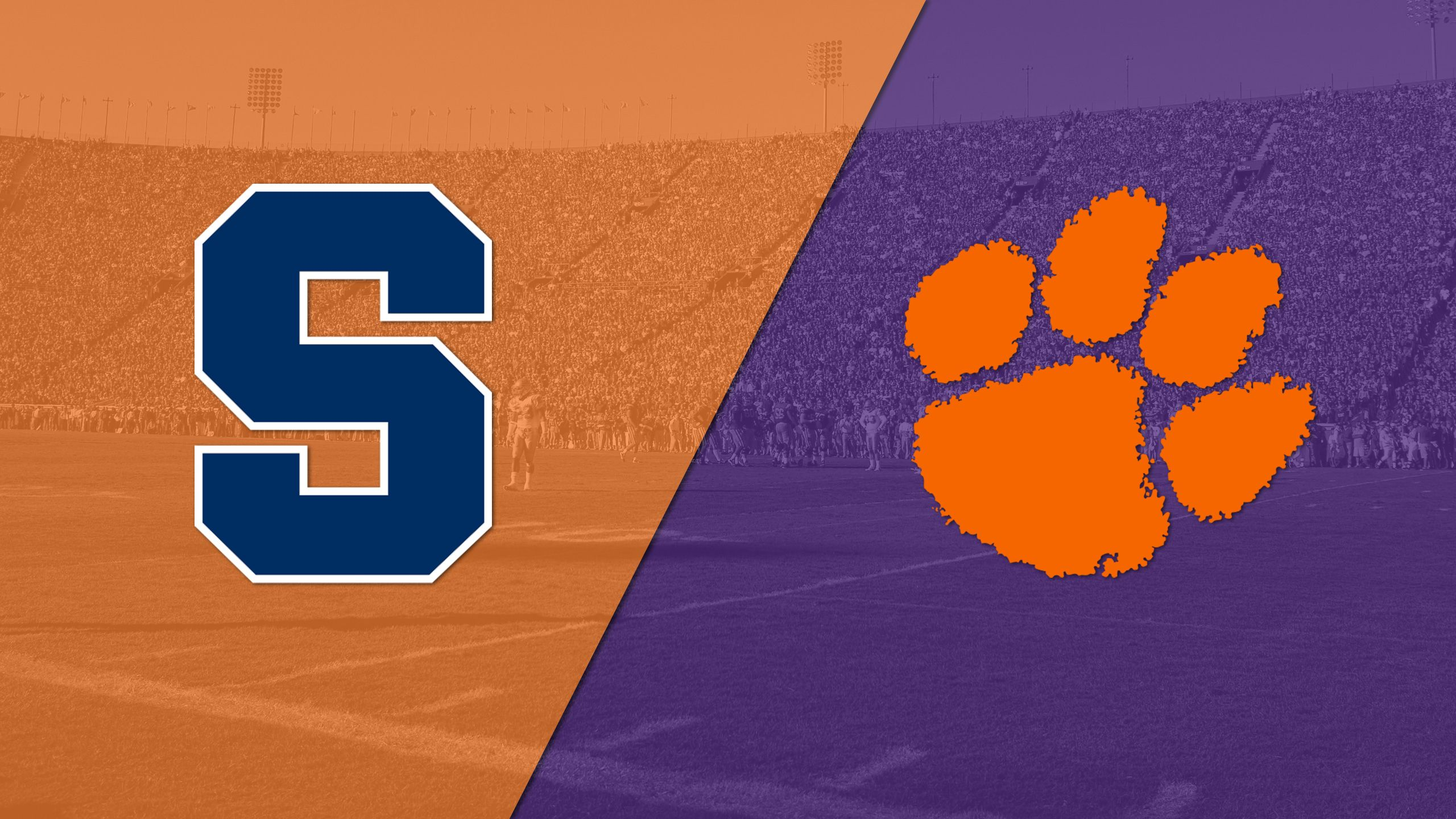 Syracuse vs. #2 Clemson (Football) (re-air)