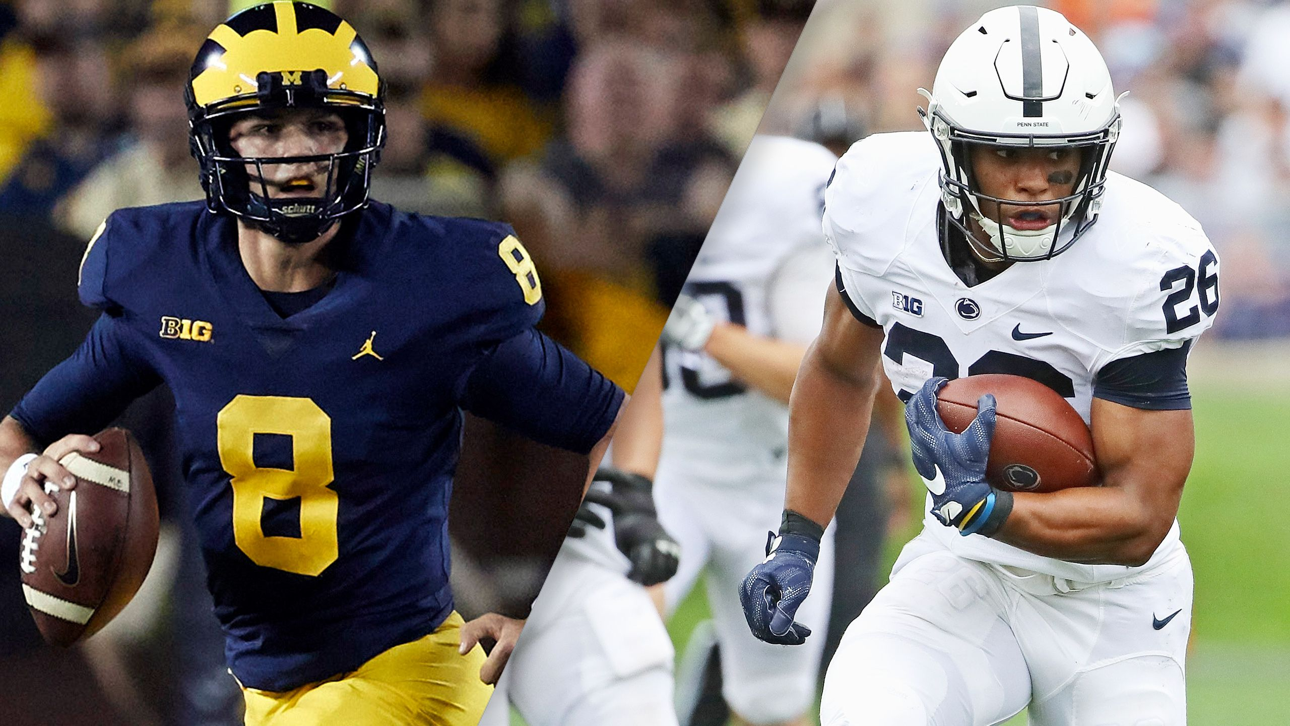 #19 Michigan vs. #2 Penn State (Football) (re-air)
