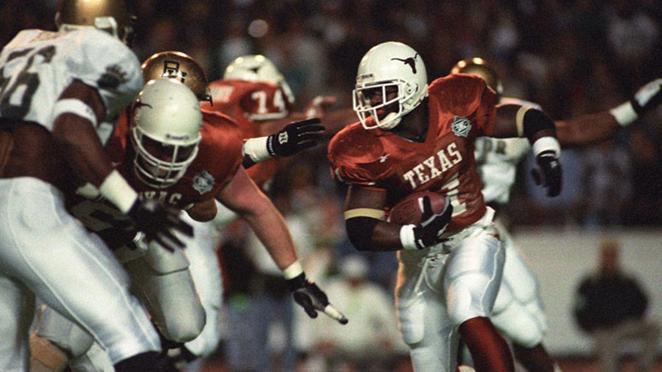 Baylor Bears vs. Texas Longhorns - 11/23/1995 (re-air)