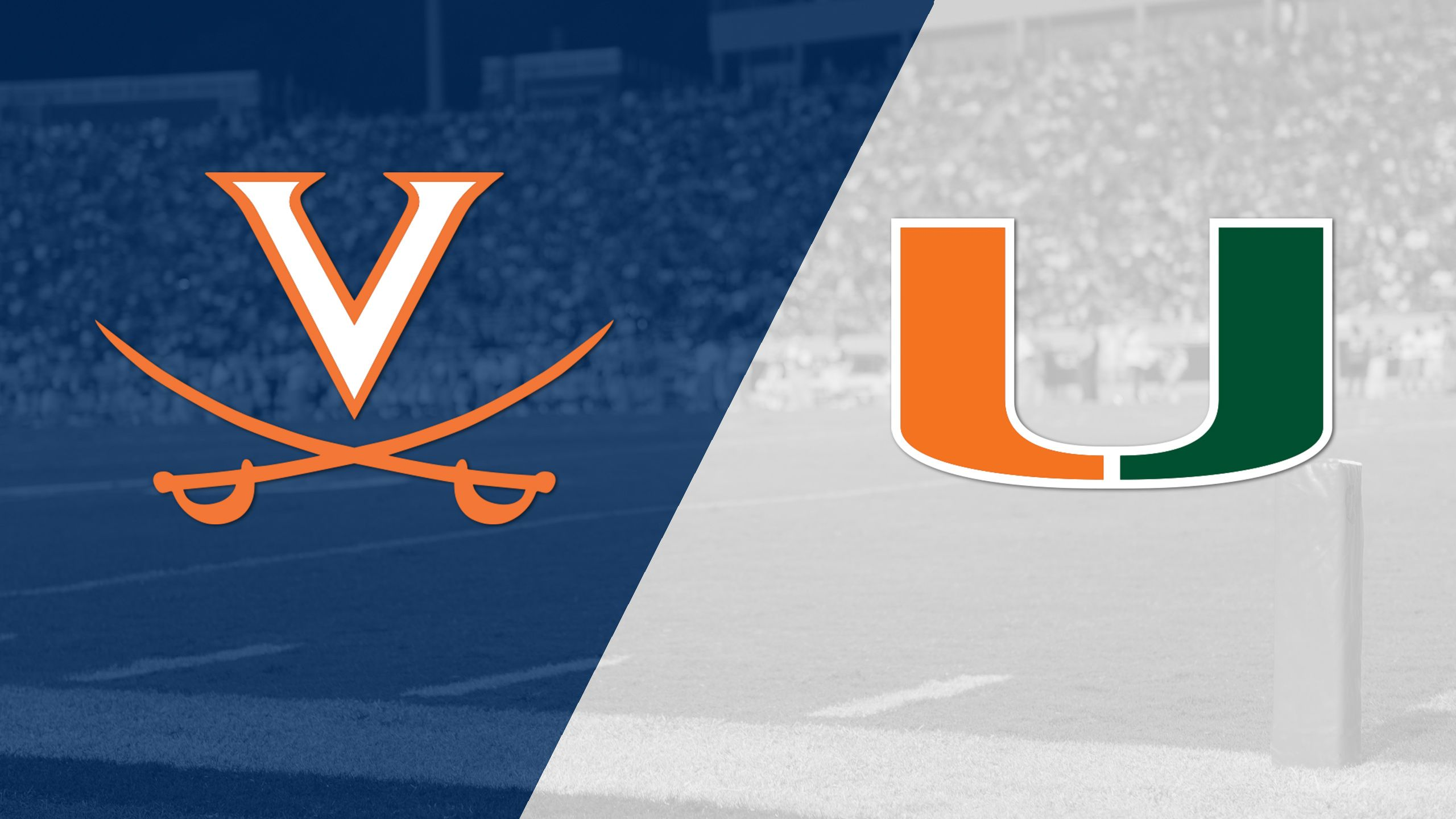 Virginia vs. #3 Miami (Football) (re-air)