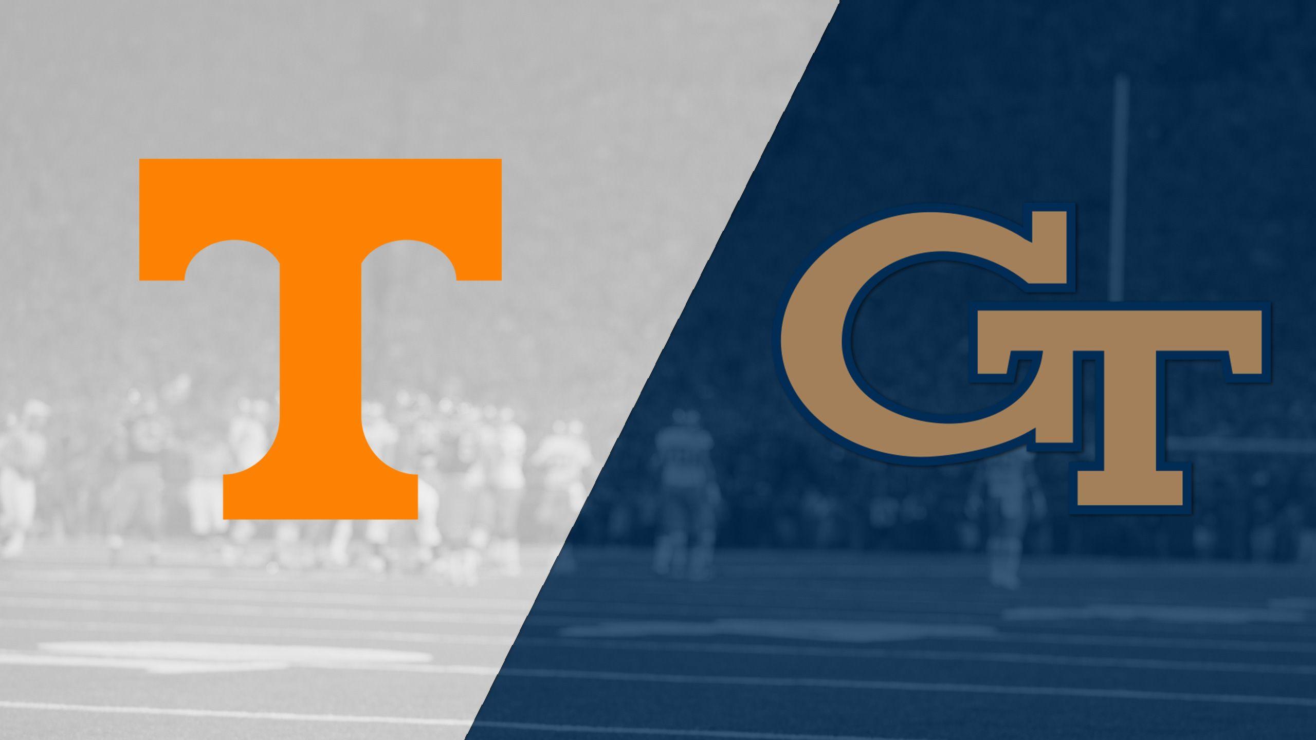 #25 Tennessee vs. Georgia Tech (Football)