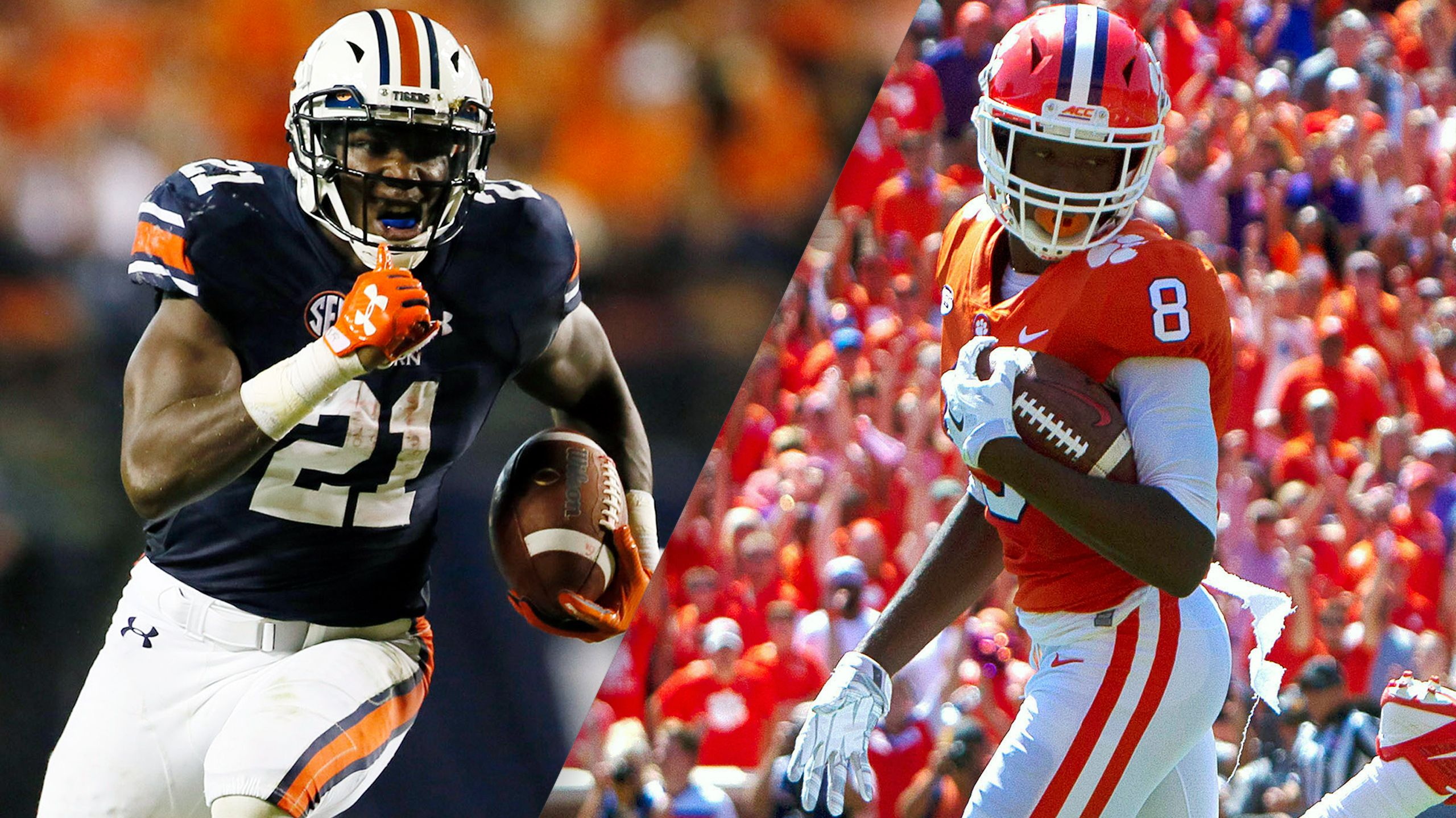 #13 Auburn vs. #3 Clemson (Football)