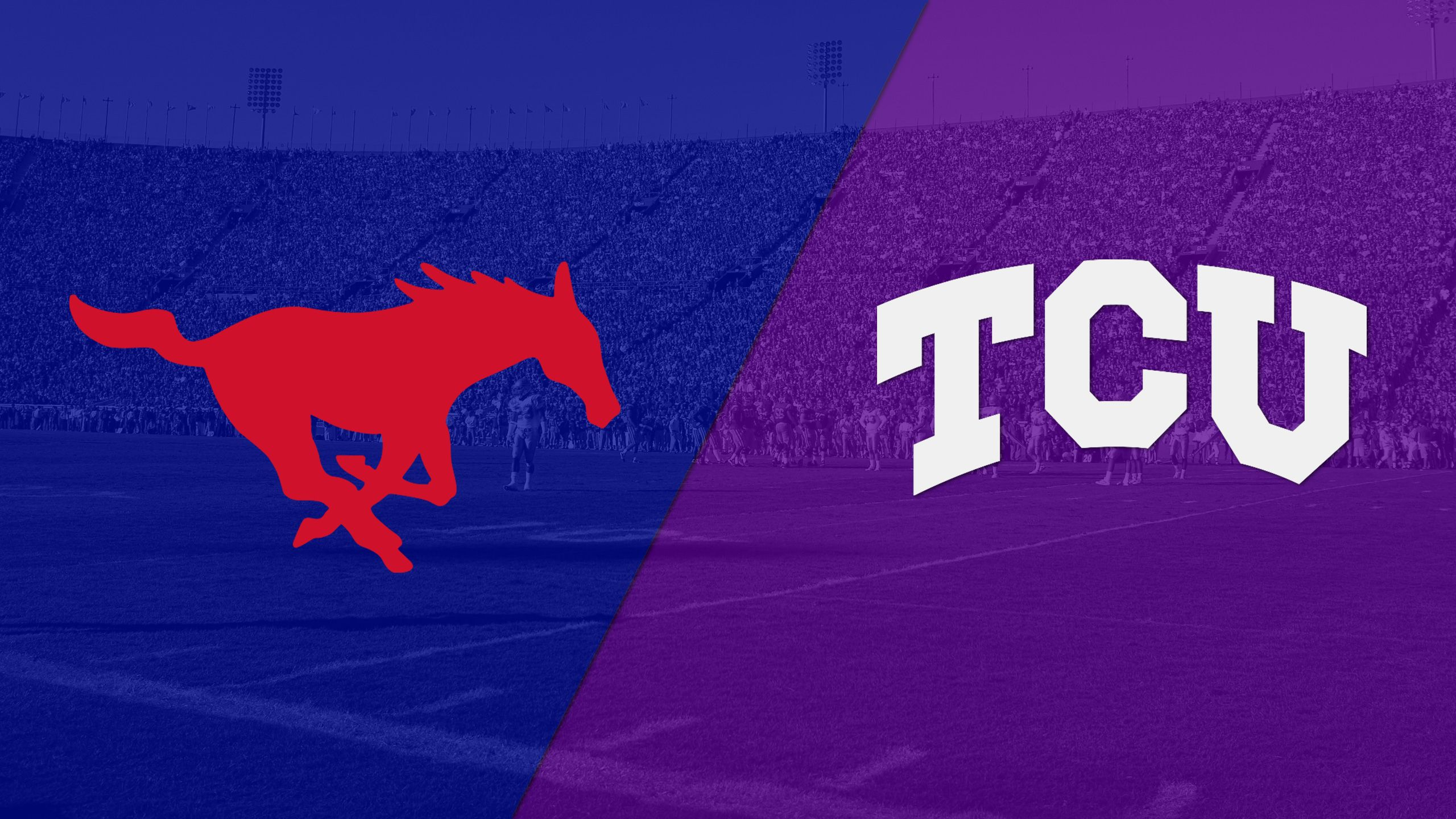 SMU vs. TCU (Football) (re-air)