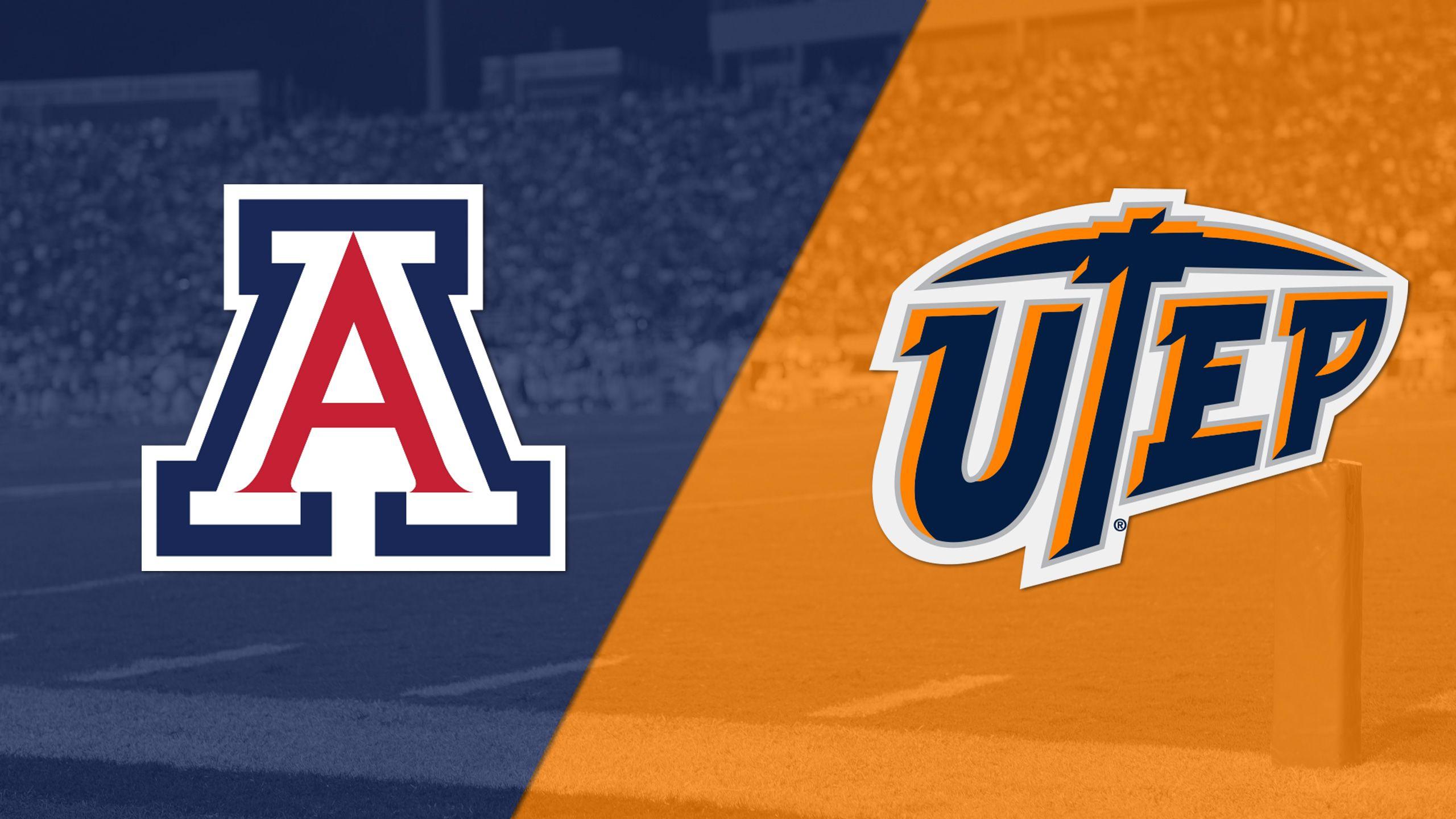 Arizona vs. UTEP (Football)