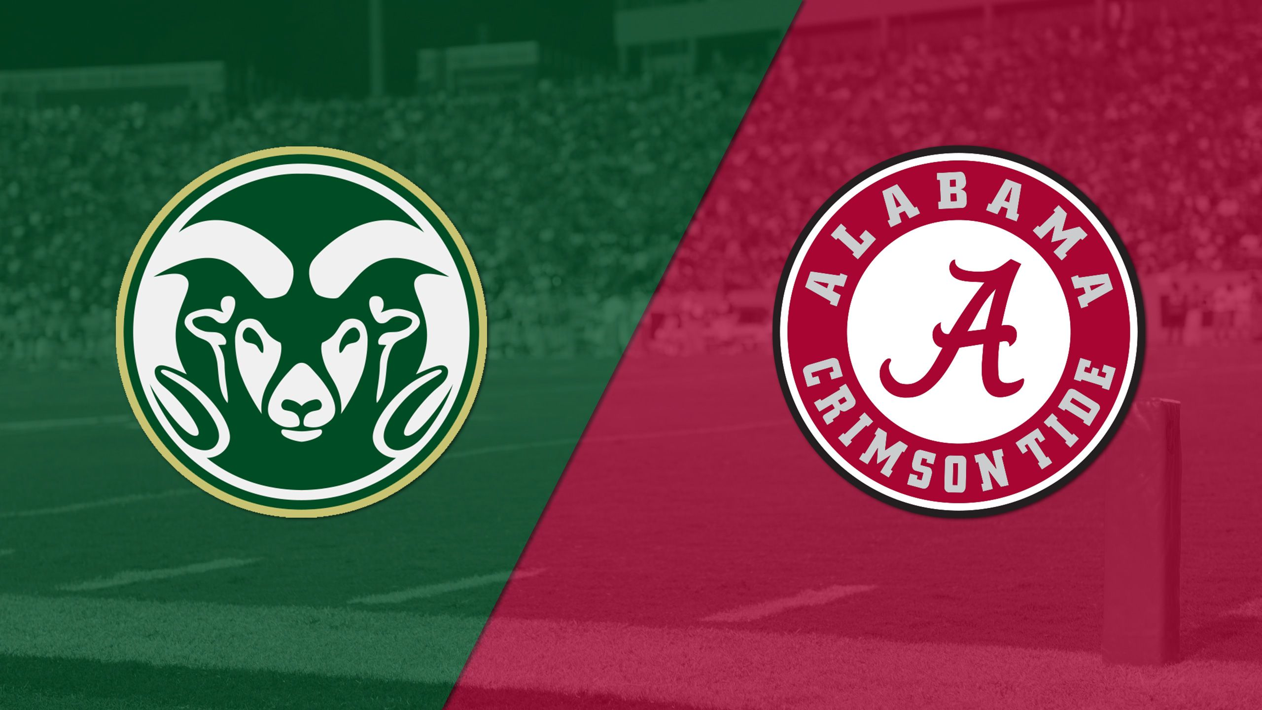 Colorado State vs. #1 Alabama (Football) (re-air)