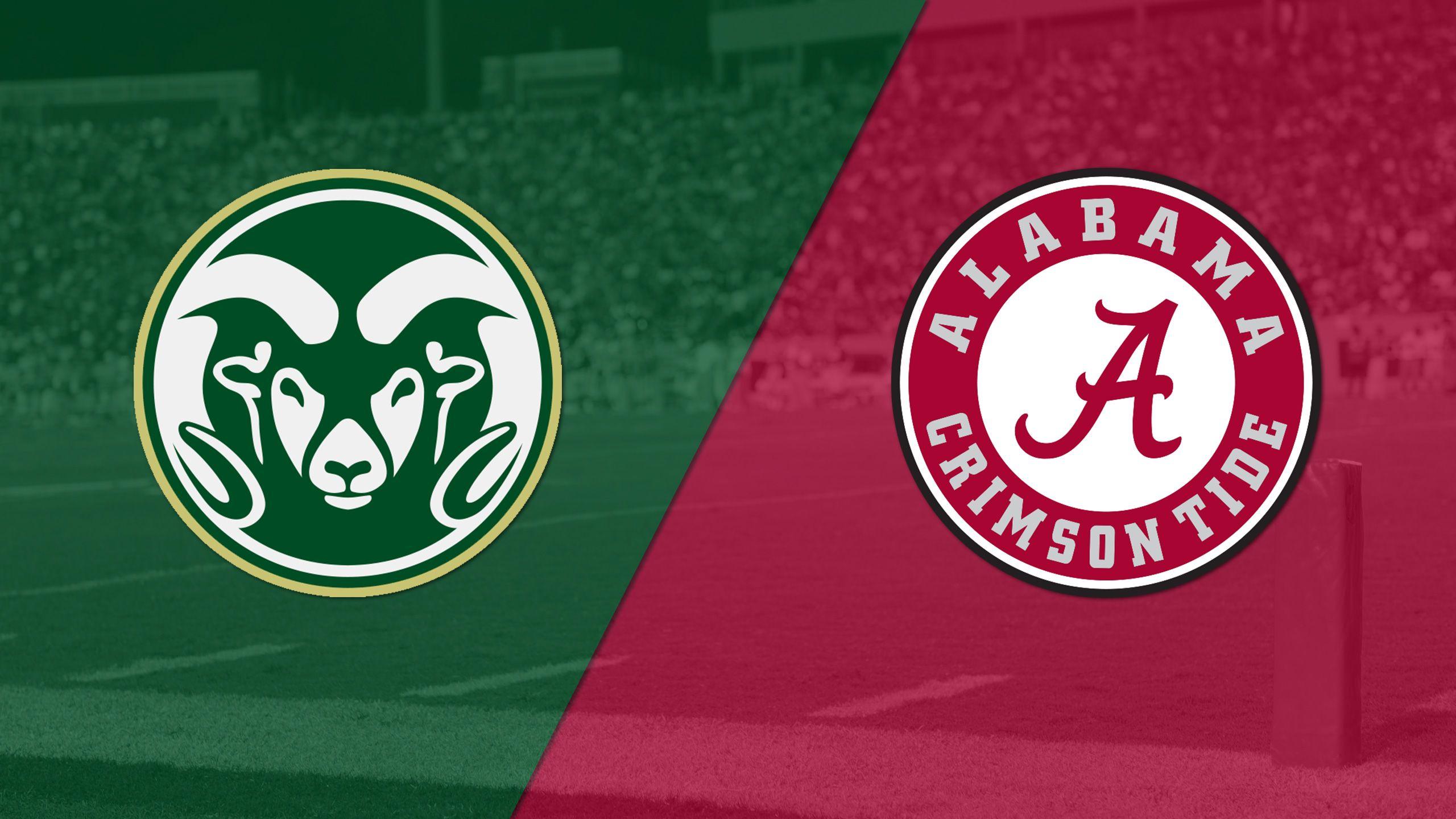 Colorado State vs. #1 Alabama (Football) (re-air)