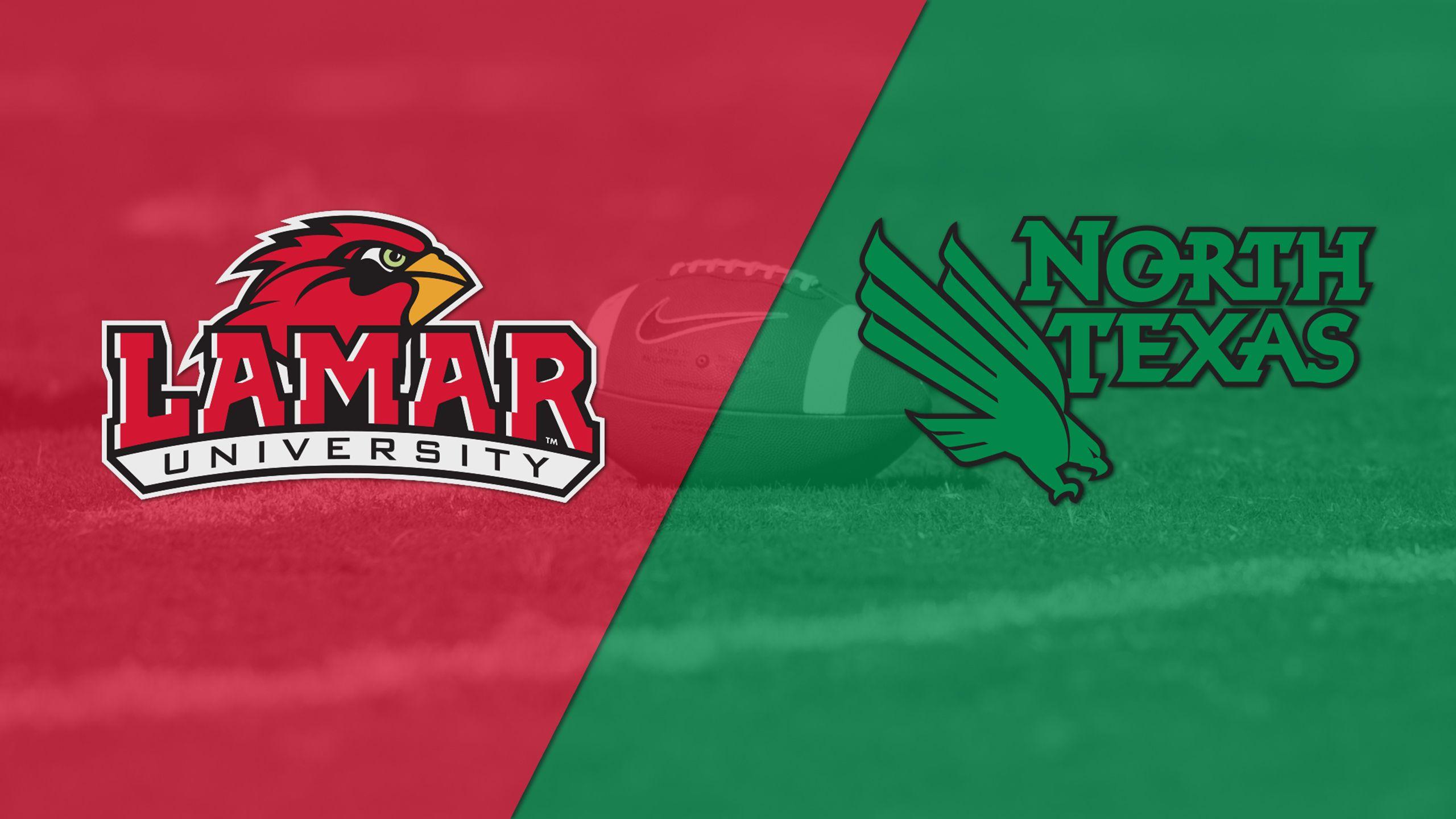 Lamar vs. North Texas (Football)