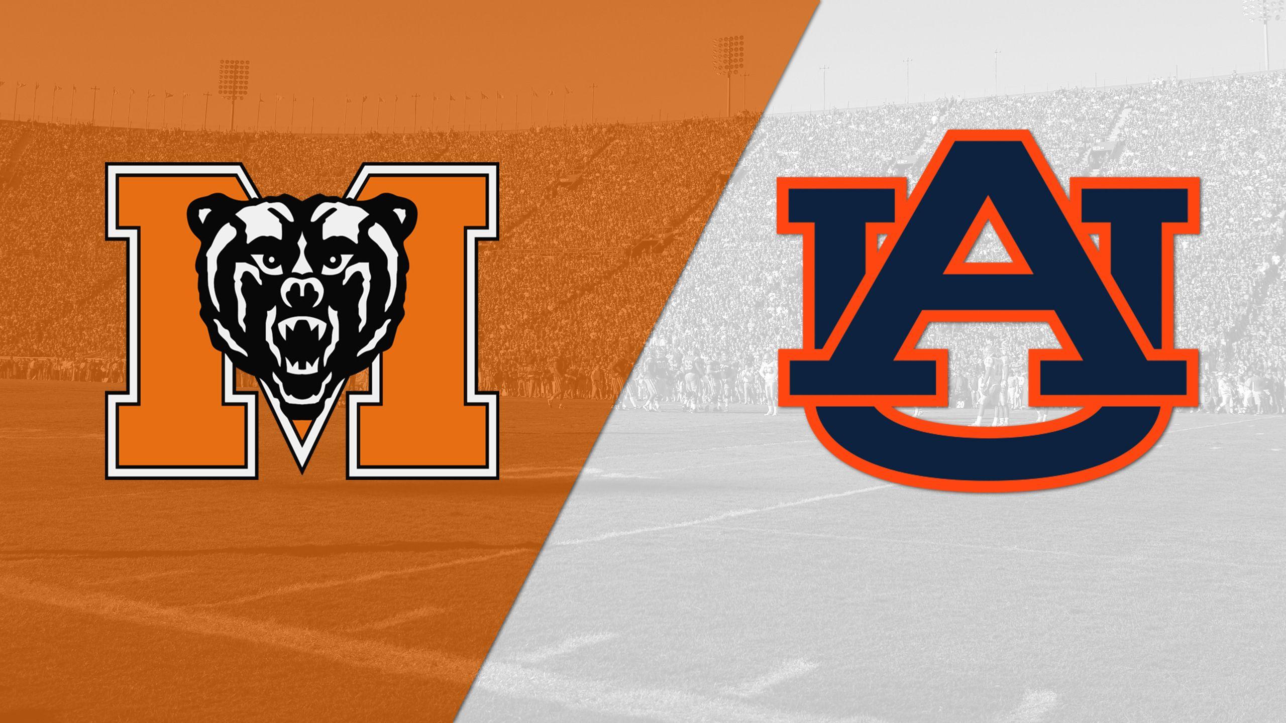 Mercer vs. Auburn (Football)