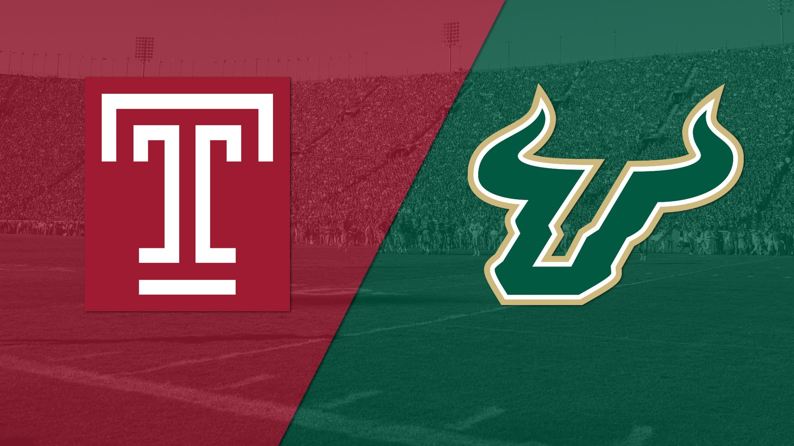 Temple vs. #21 South Florida (Football) (re-air)