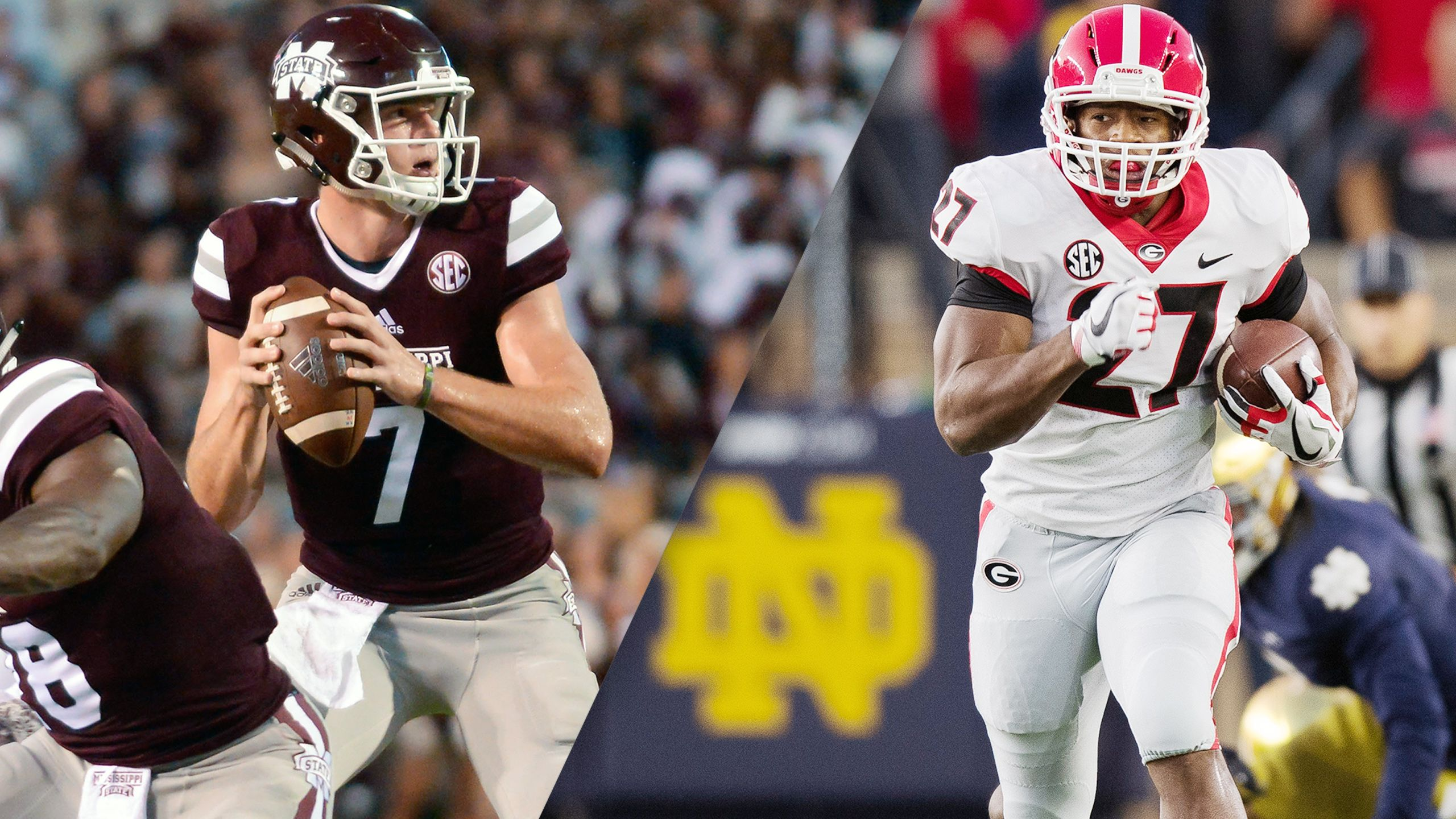 #17 Mississippi State vs. #11 Georgia (Football) (re-air)