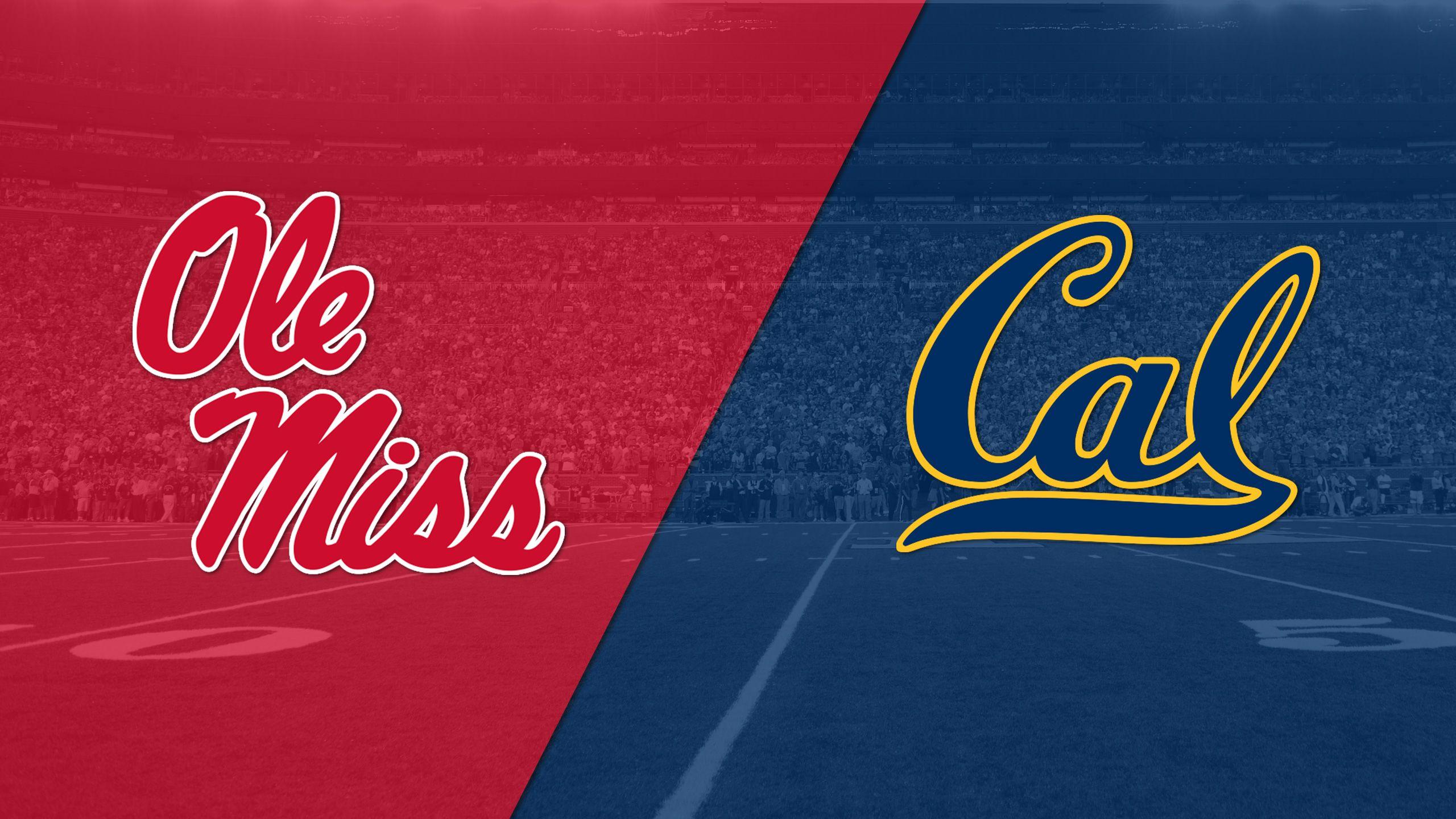In Spanish - Ole Miss vs. California (Football)
