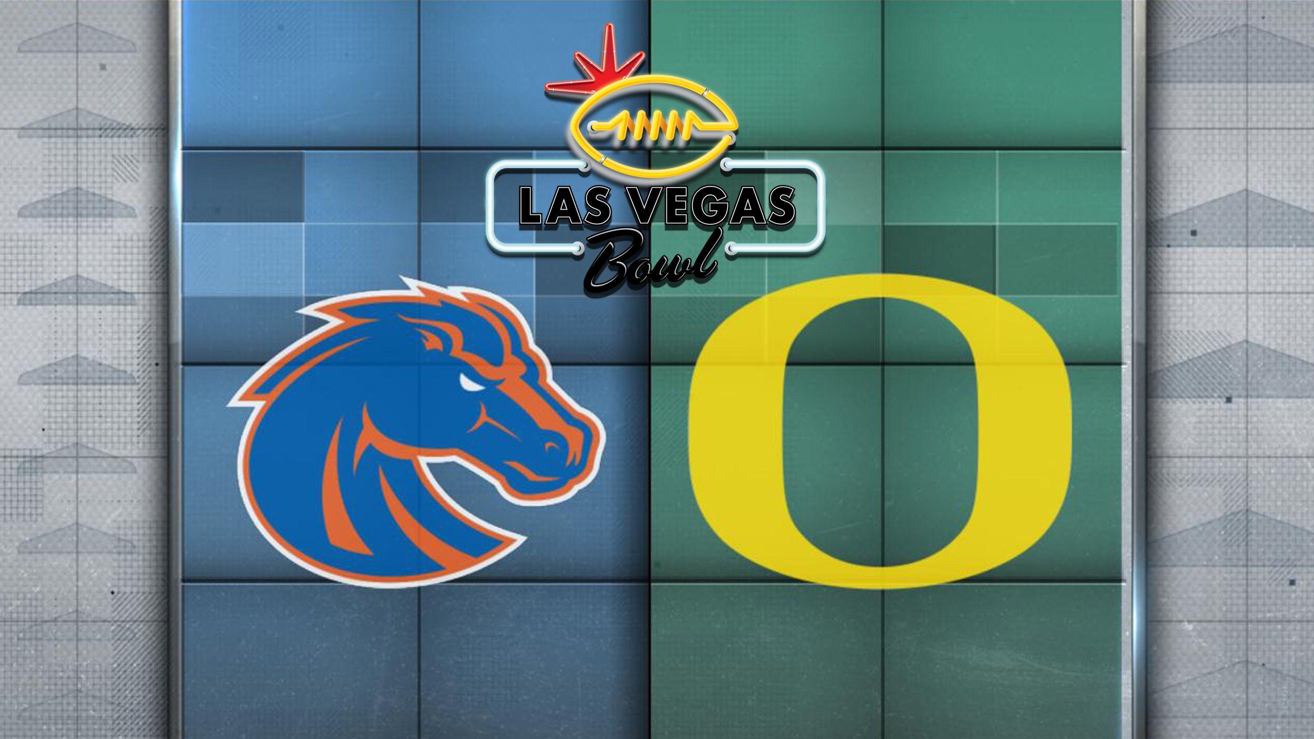 #25 Boise State vs. Oregon (Las Vegas Bowl)