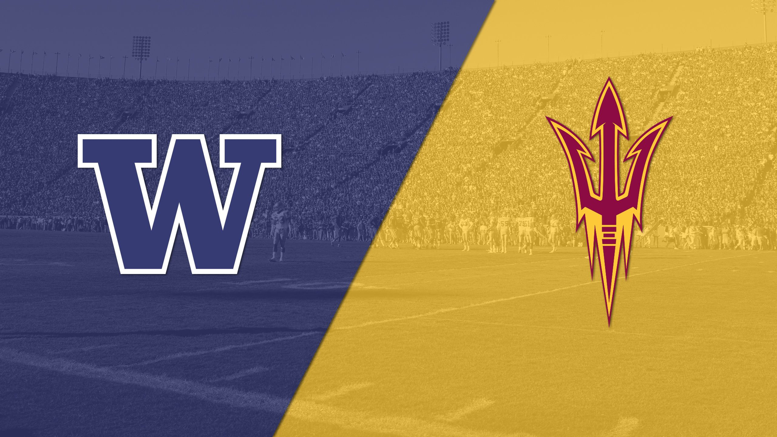 #5 Washington vs. Arizona State (Football) (re-air)