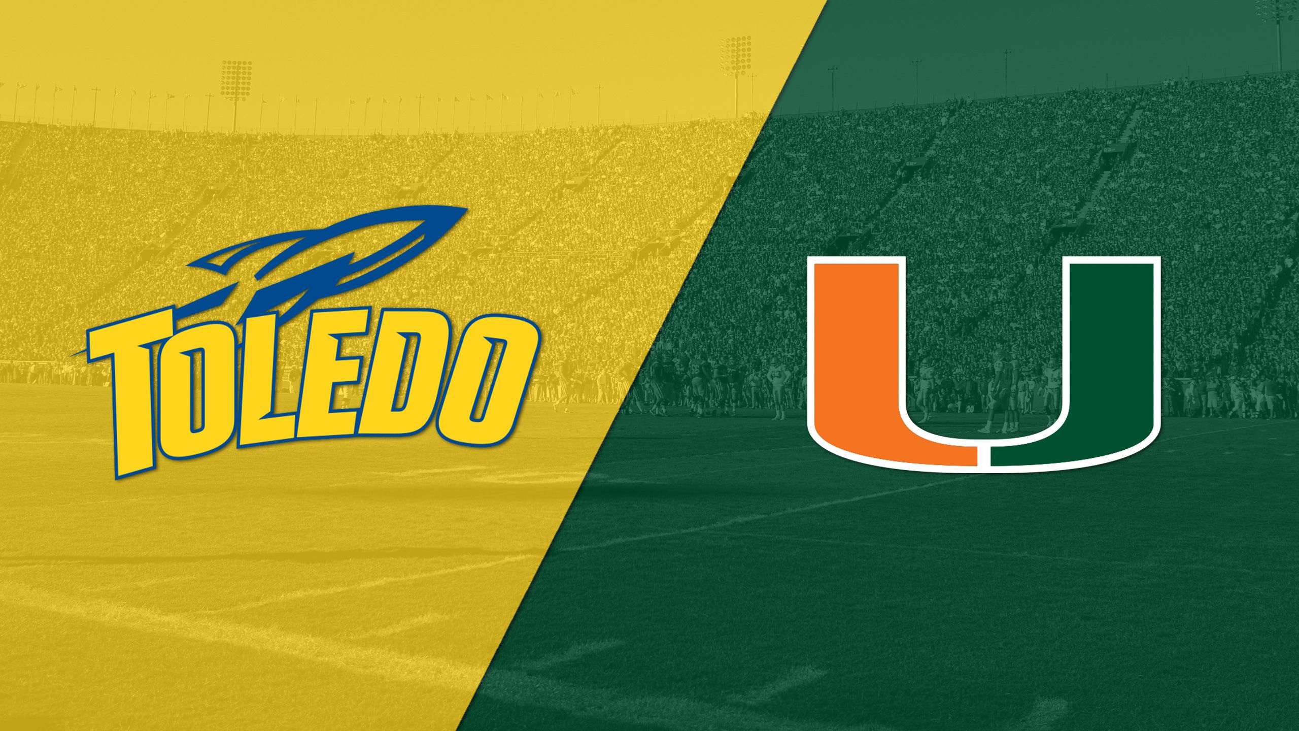 Toledo vs. #14 Miami (Football)