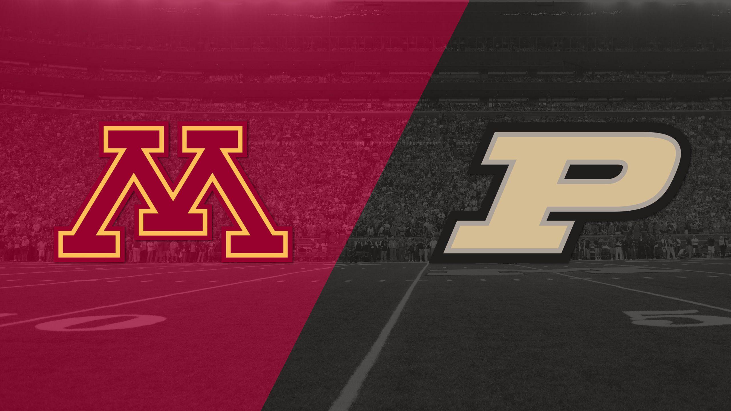 Minnesota vs. Purdue (Football)