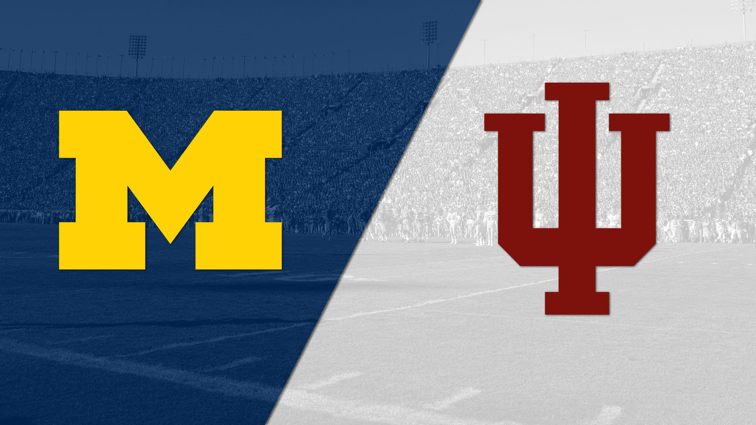 #17 Michigan vs. Indiana (Football) (re-air)