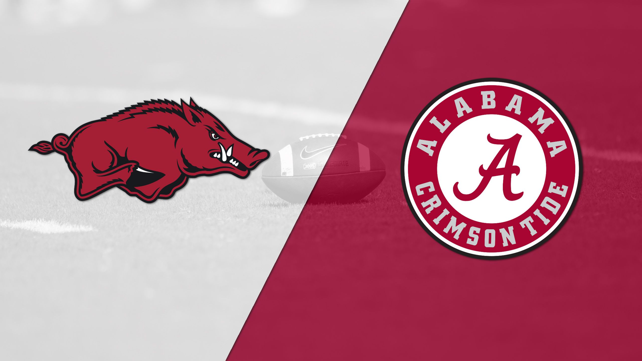 Arkansas vs. #1 Alabama (Football) (re-air)