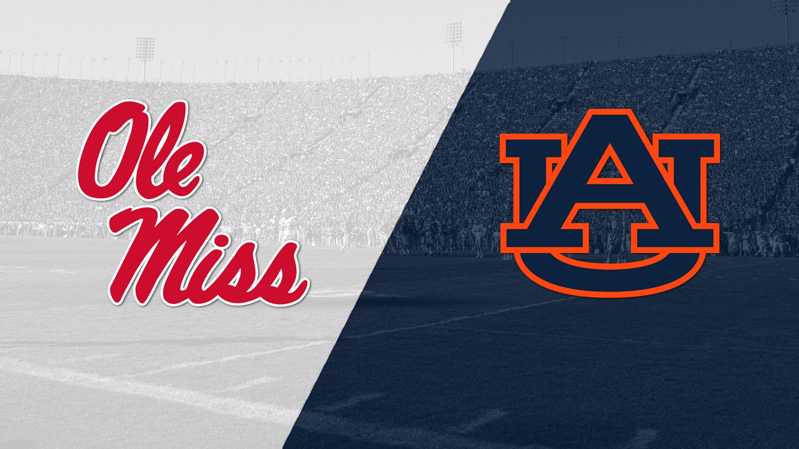 Ole Miss vs. #12 Auburn (Football)