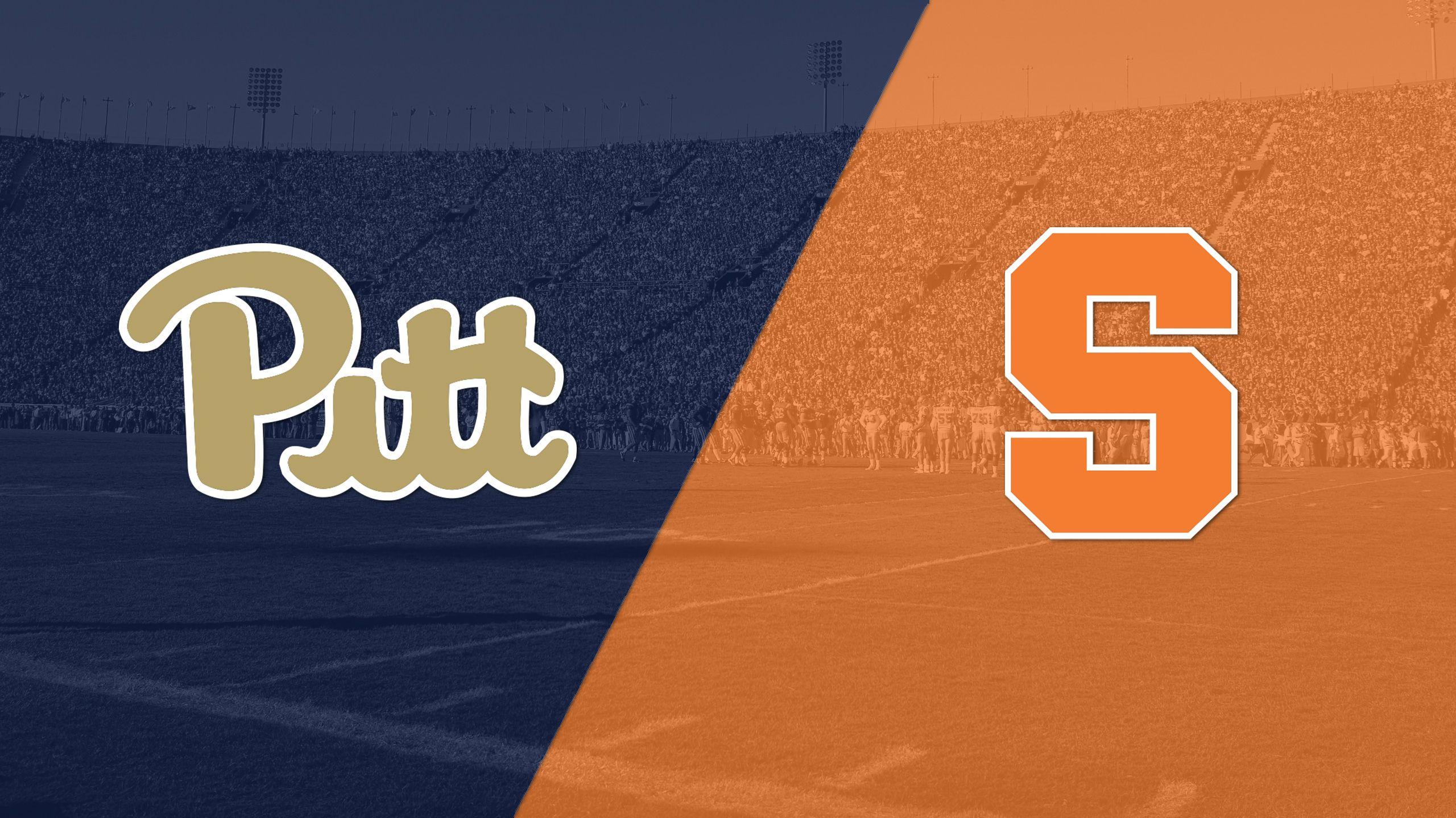 Pittsburgh vs. Syracuse (Football)