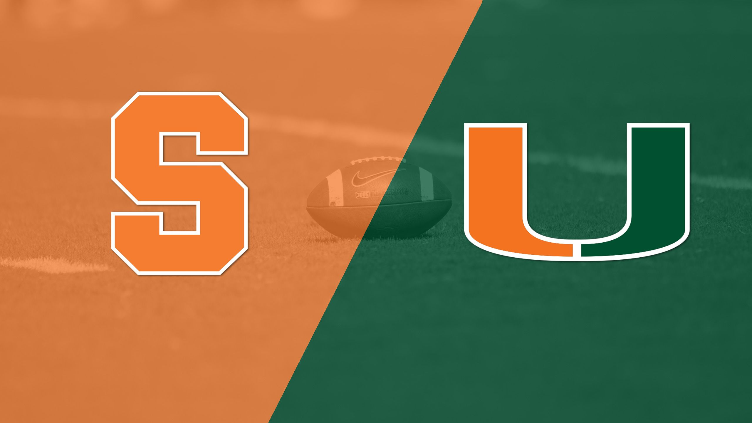 Syracuse vs. #8 Miami (Football) (re-air)