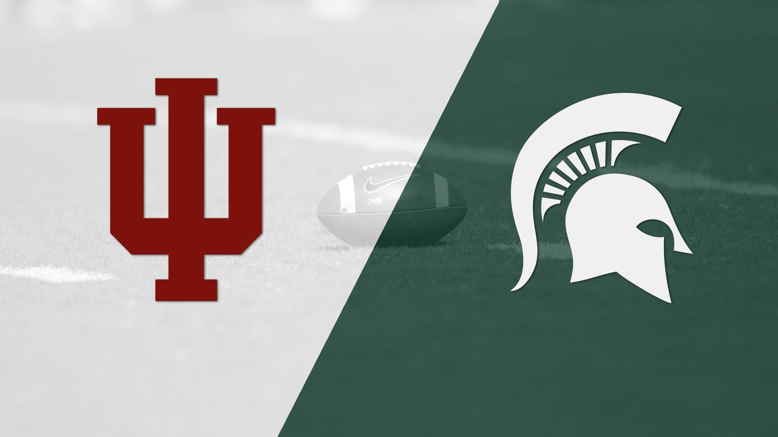Indiana vs. #18 Michigan State (Football) (re-air)
