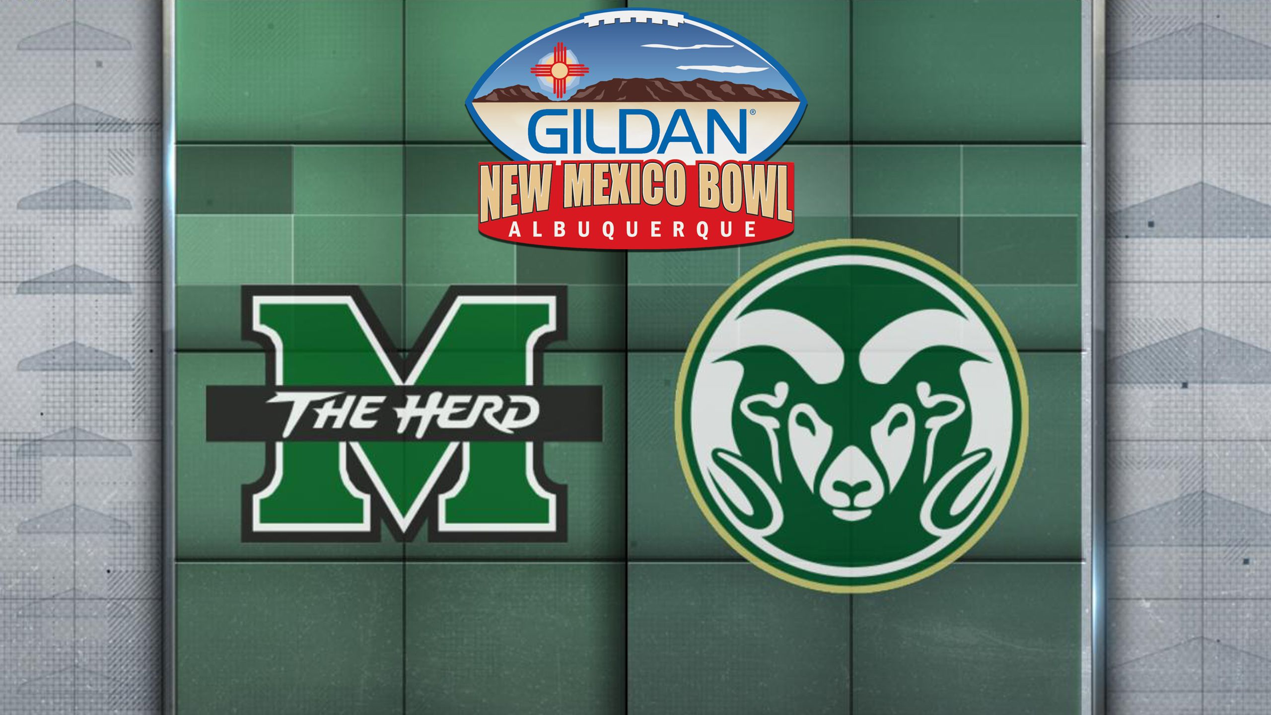 Marshall vs. Colorado State (Gildan New Mexico Bowl) (re-air)