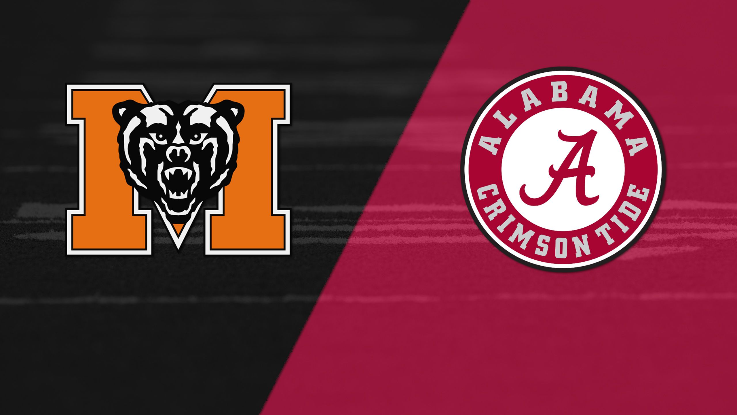 Mercer vs. #1 Alabama (Football) (re-air)