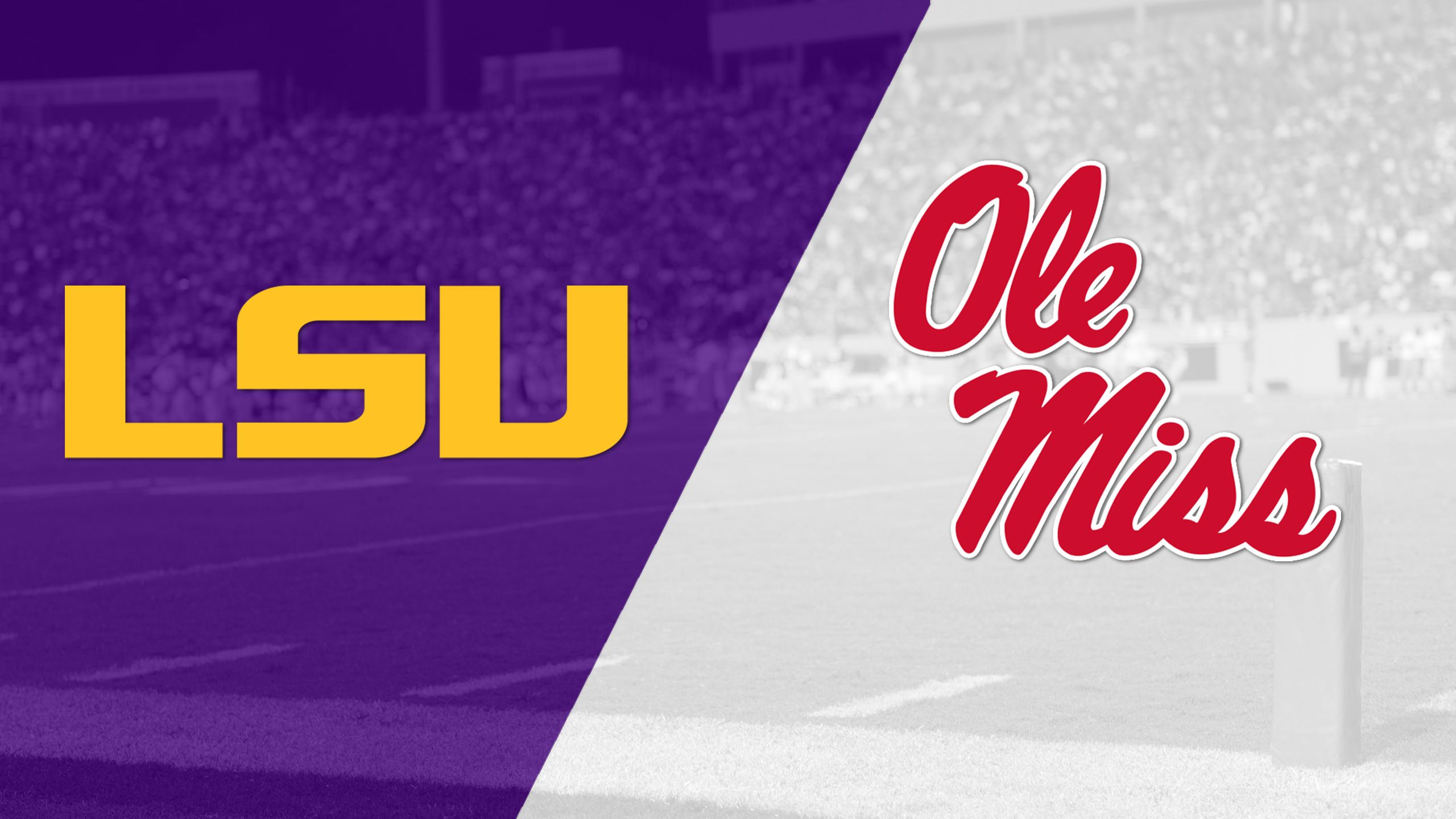 #24 LSU vs. Ole Miss (Football) (re-air)