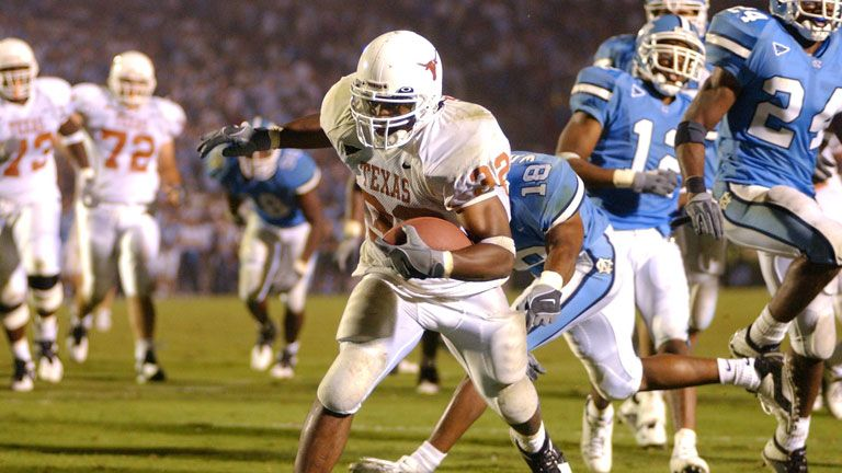 Texas Longhorns vs. North Carolina Tar Heels (Football) (re-air)