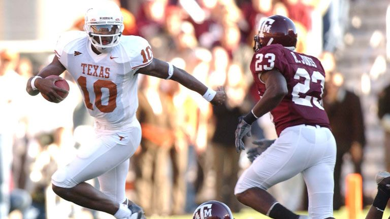 Texas Longhorns vs. Texas A&M Aggies (Football) (re-air)