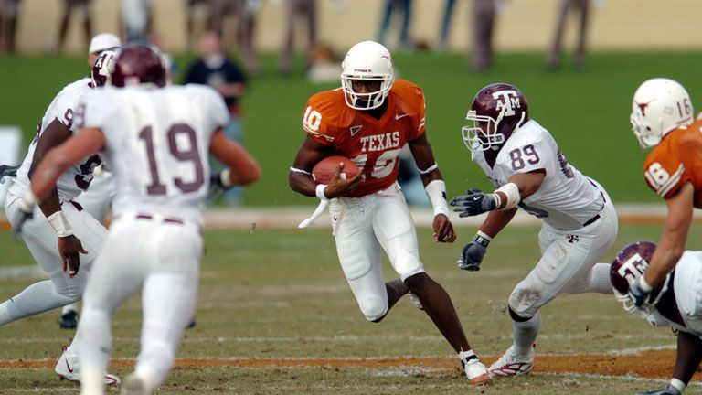 Texas A&M Aggies vs. Texas Longhorns (Football) (re-air)