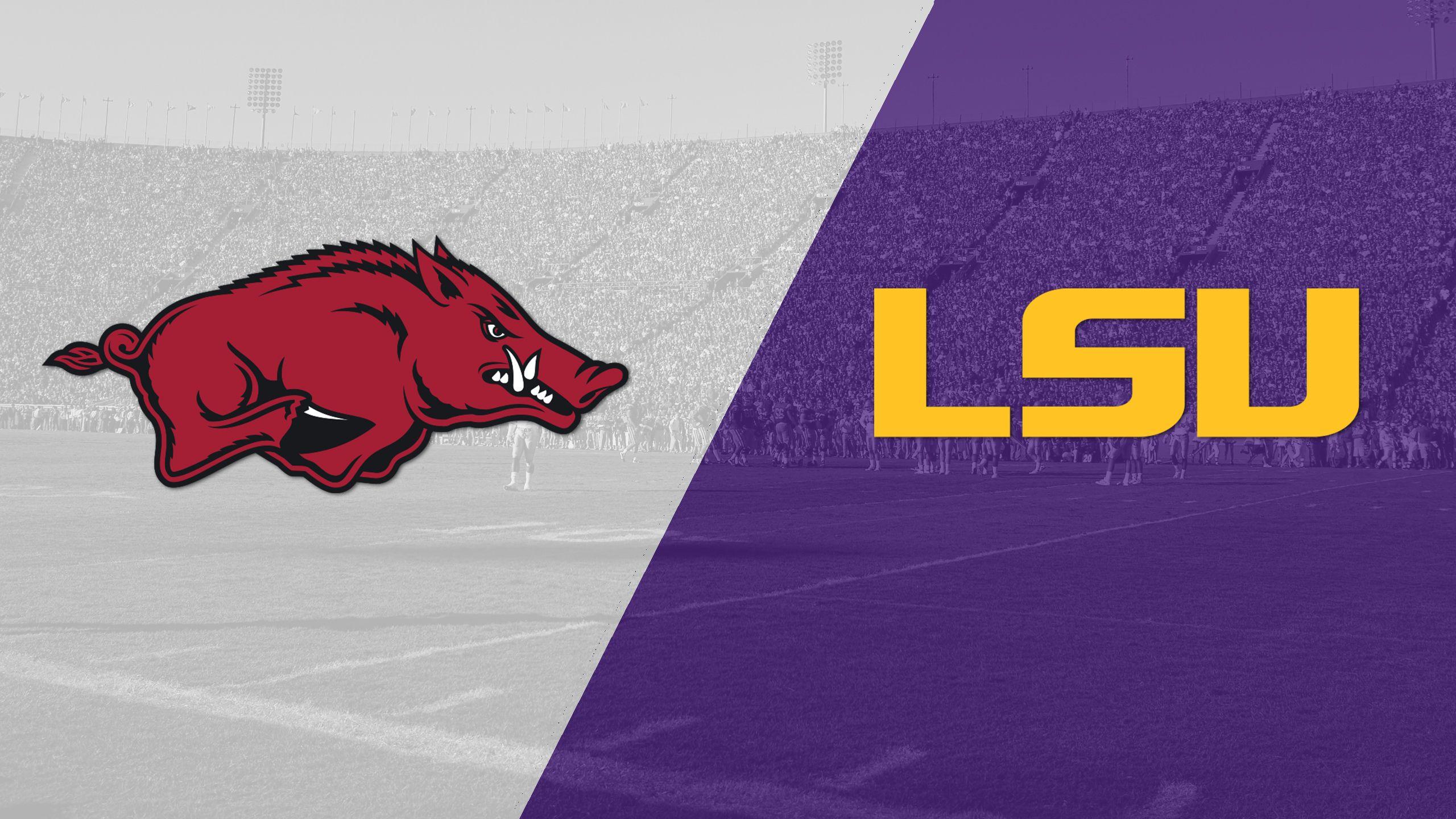 Arkansas vs. #24 LSU (Football) (re-air)