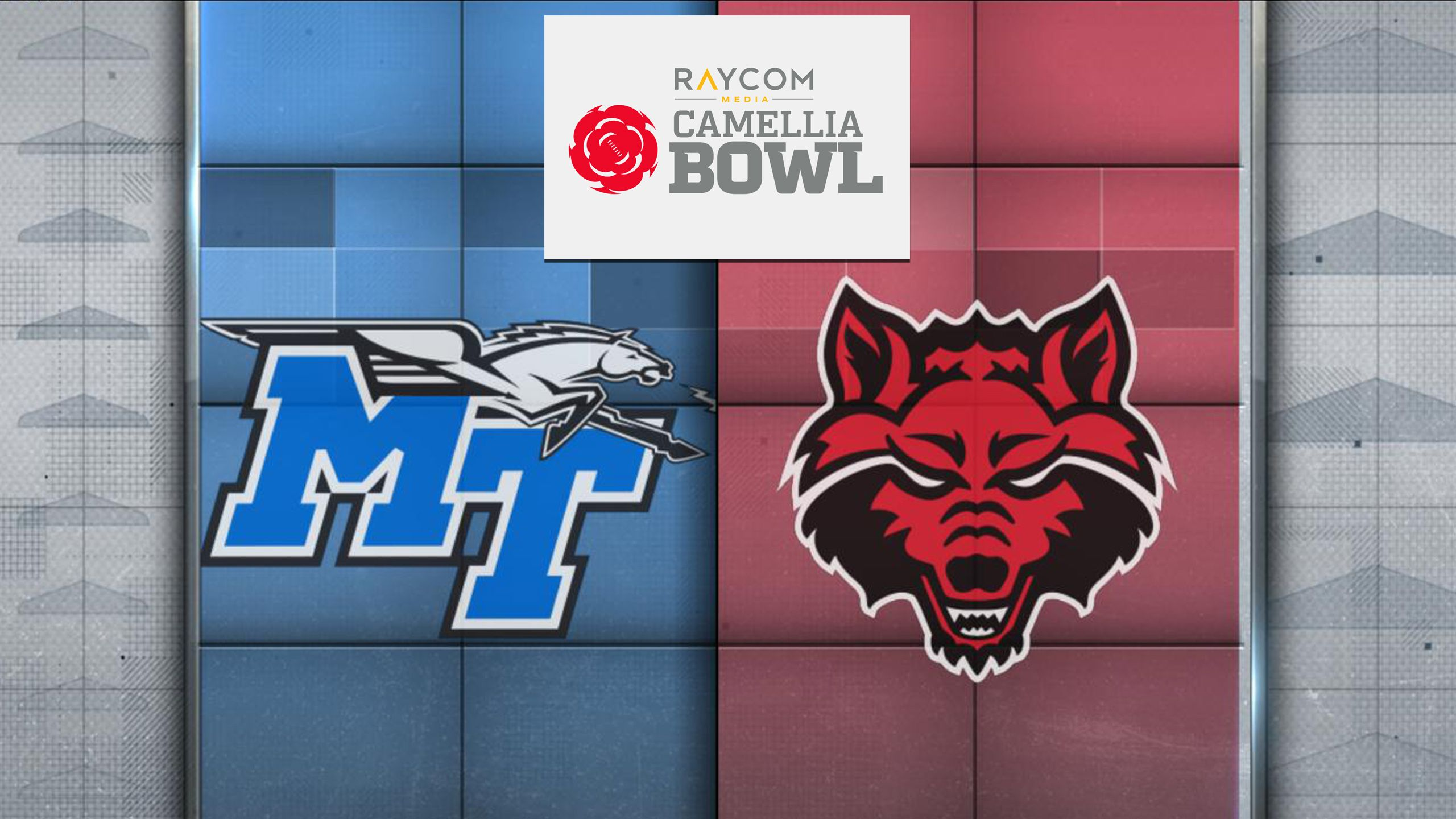 Middle Tennessee vs. Arkansas State (Raycom Media Camellia Bowl) (re-air)