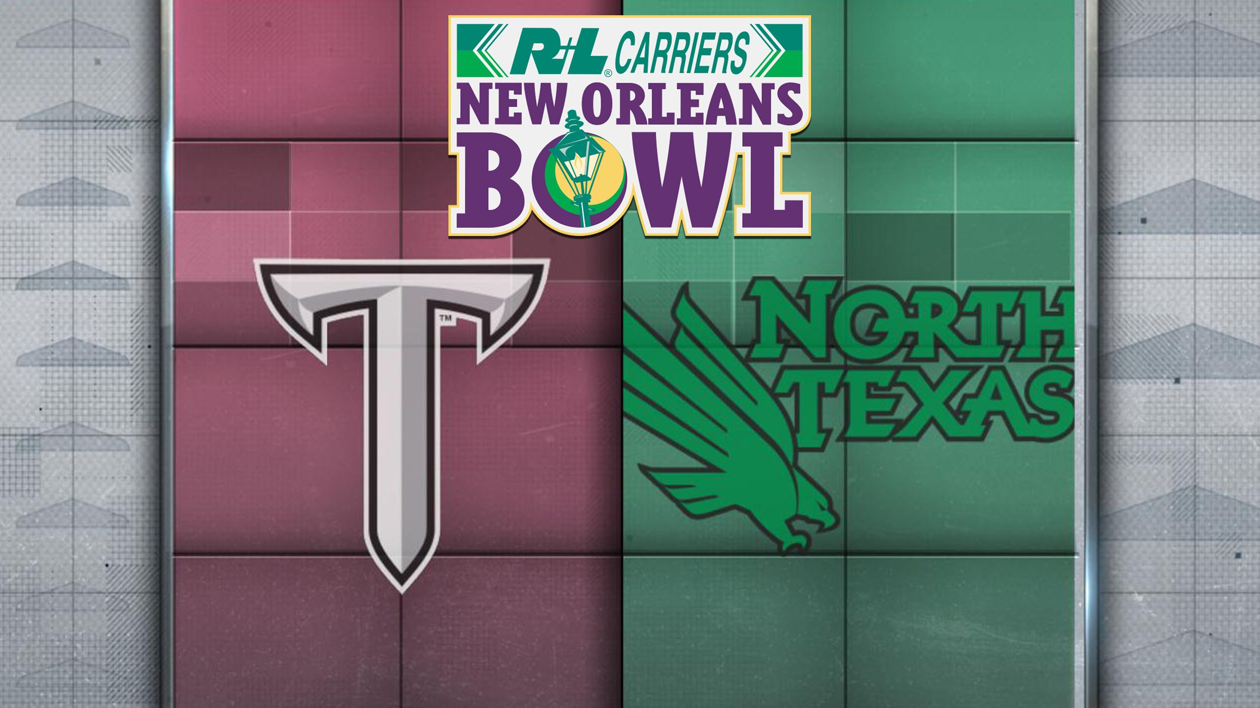 Troy vs. North Texas (R+L Carriers New Orleans Bowl) (re-air)