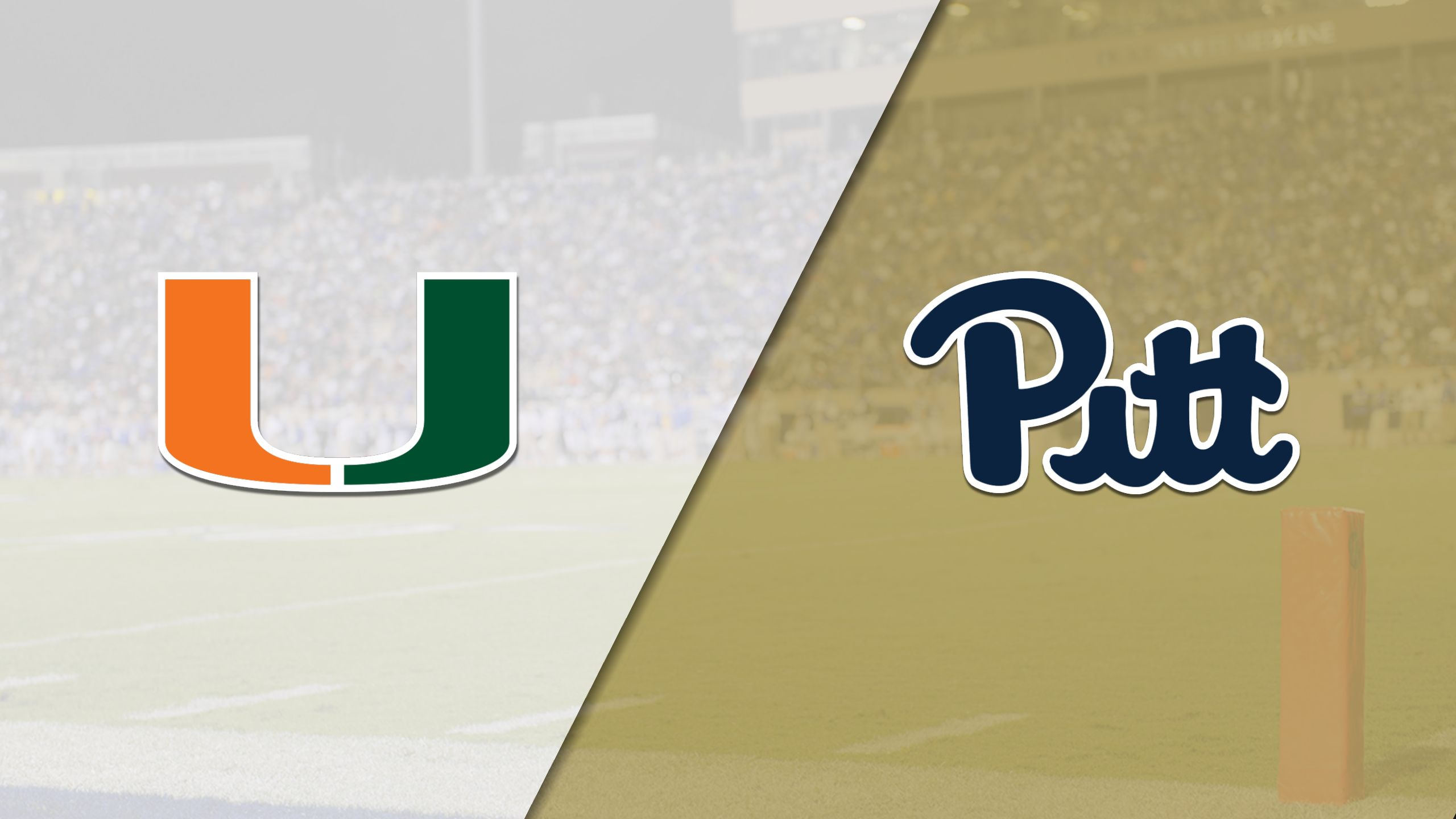 In Spanish - #2 Miami vs. Pittsburgh (Football)