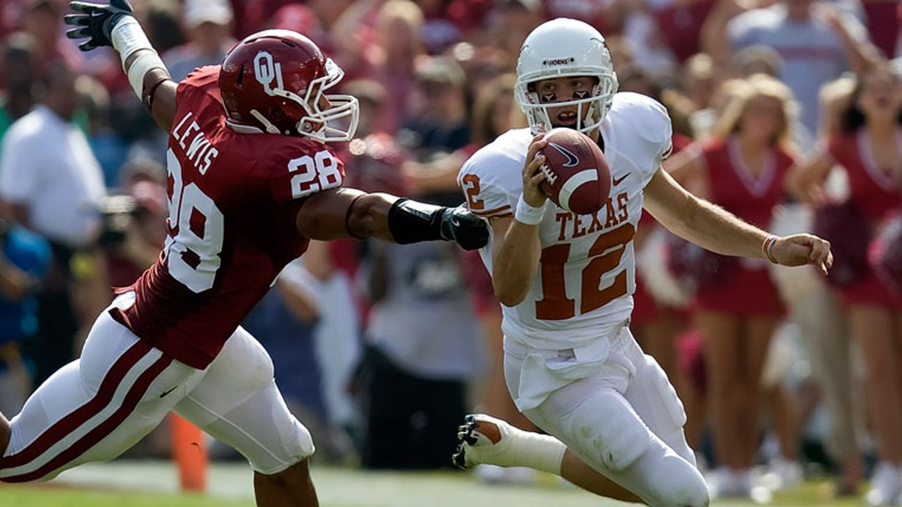 Texas Longhorns vs. #20 Oklahoma Sooners (Football) (re-air)