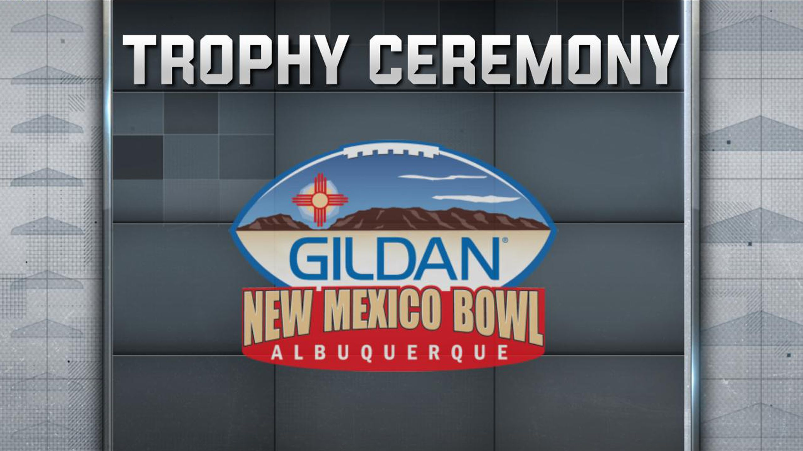 GILDAN New Mexico Bowl Trophy Ceremony Presented by Capital One