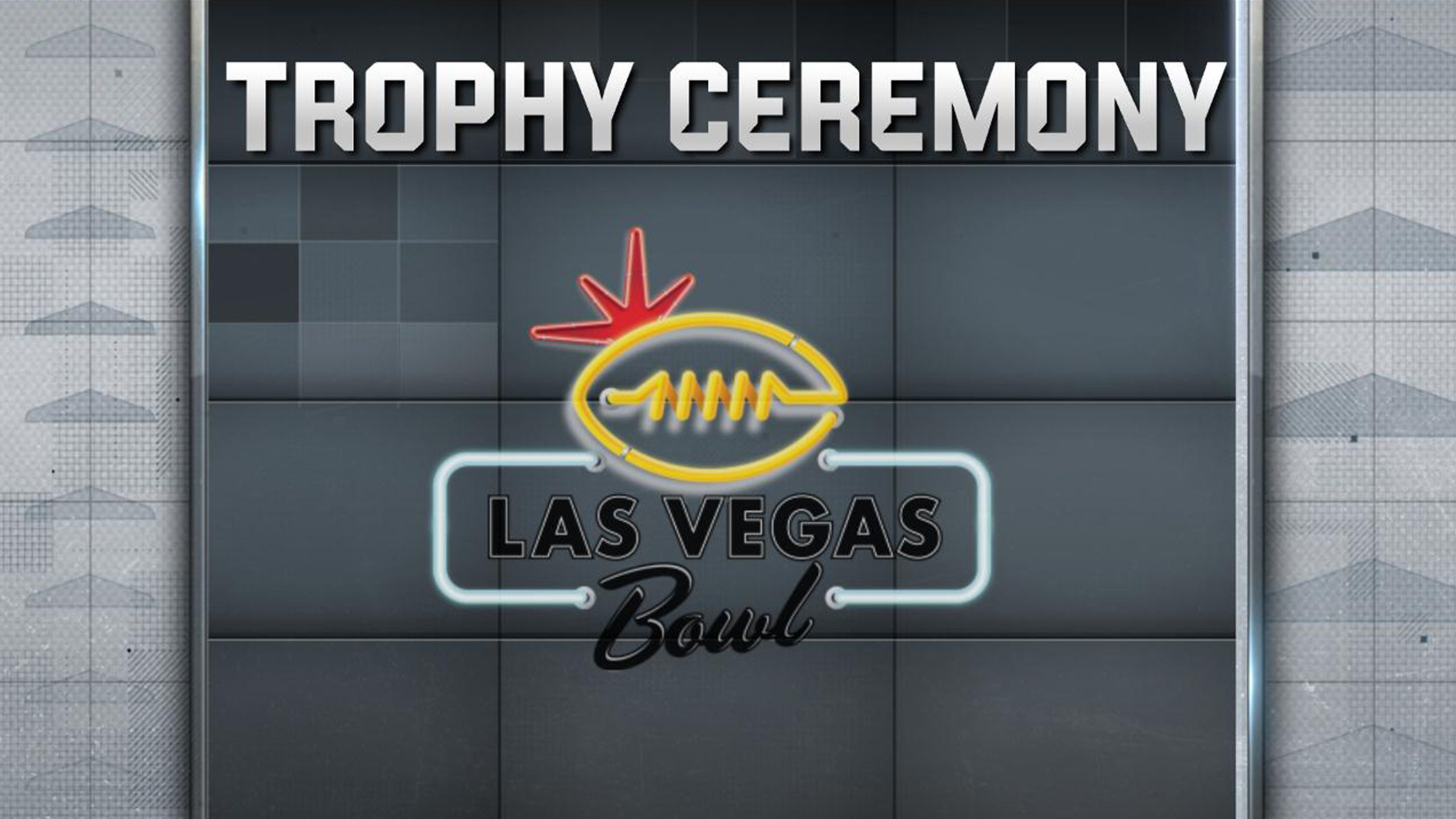 Las Vegas Bowl Trophy Ceremony Presented by Capital One