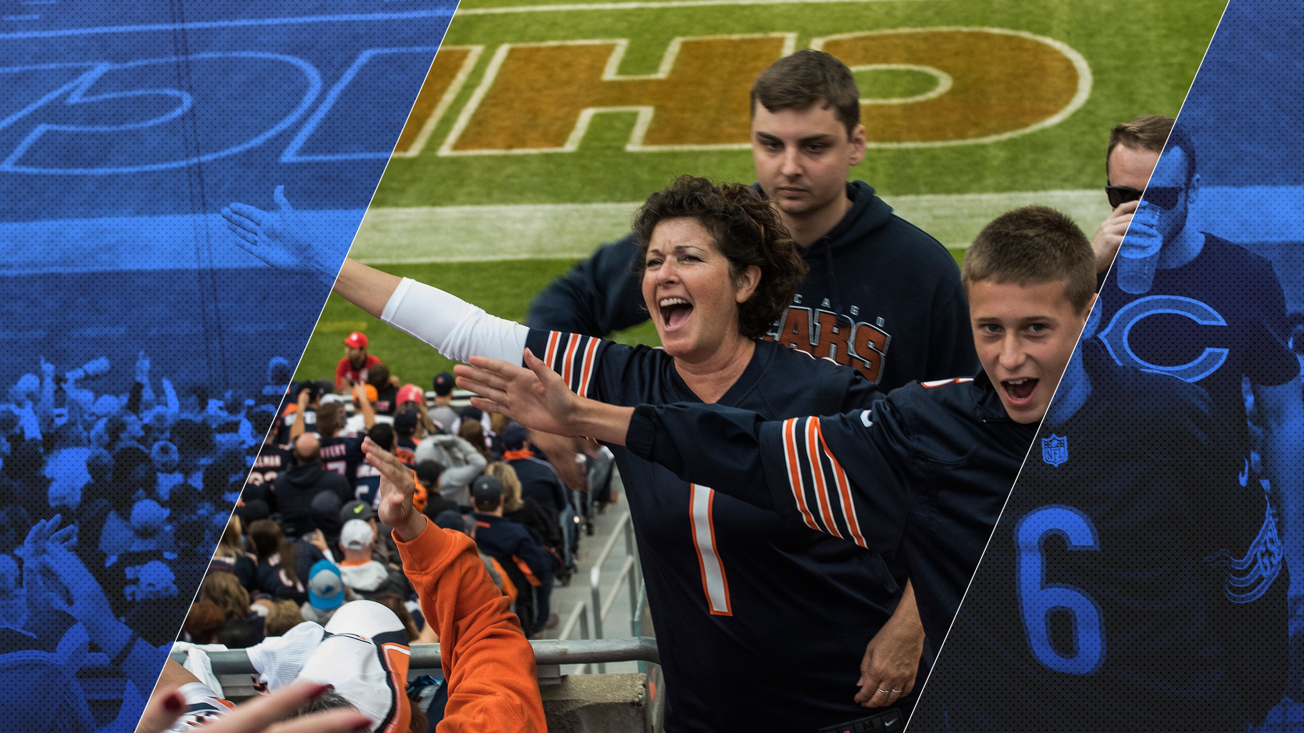 We the Fans: Section 250 of Soldier Field