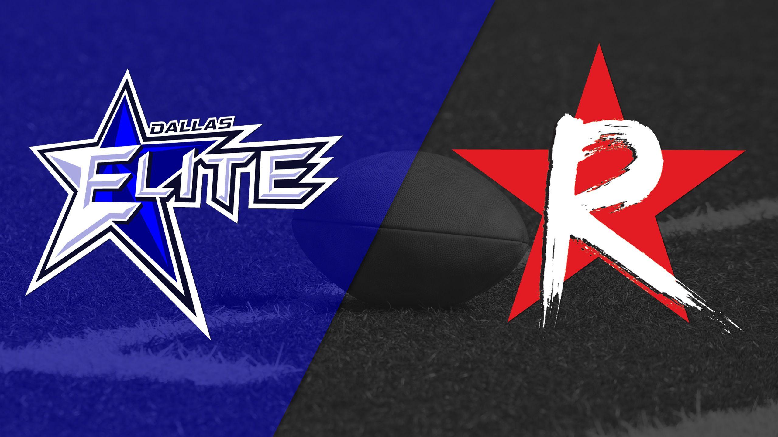 Dallas Elite vs. Boston Renegades (The W Bowl)