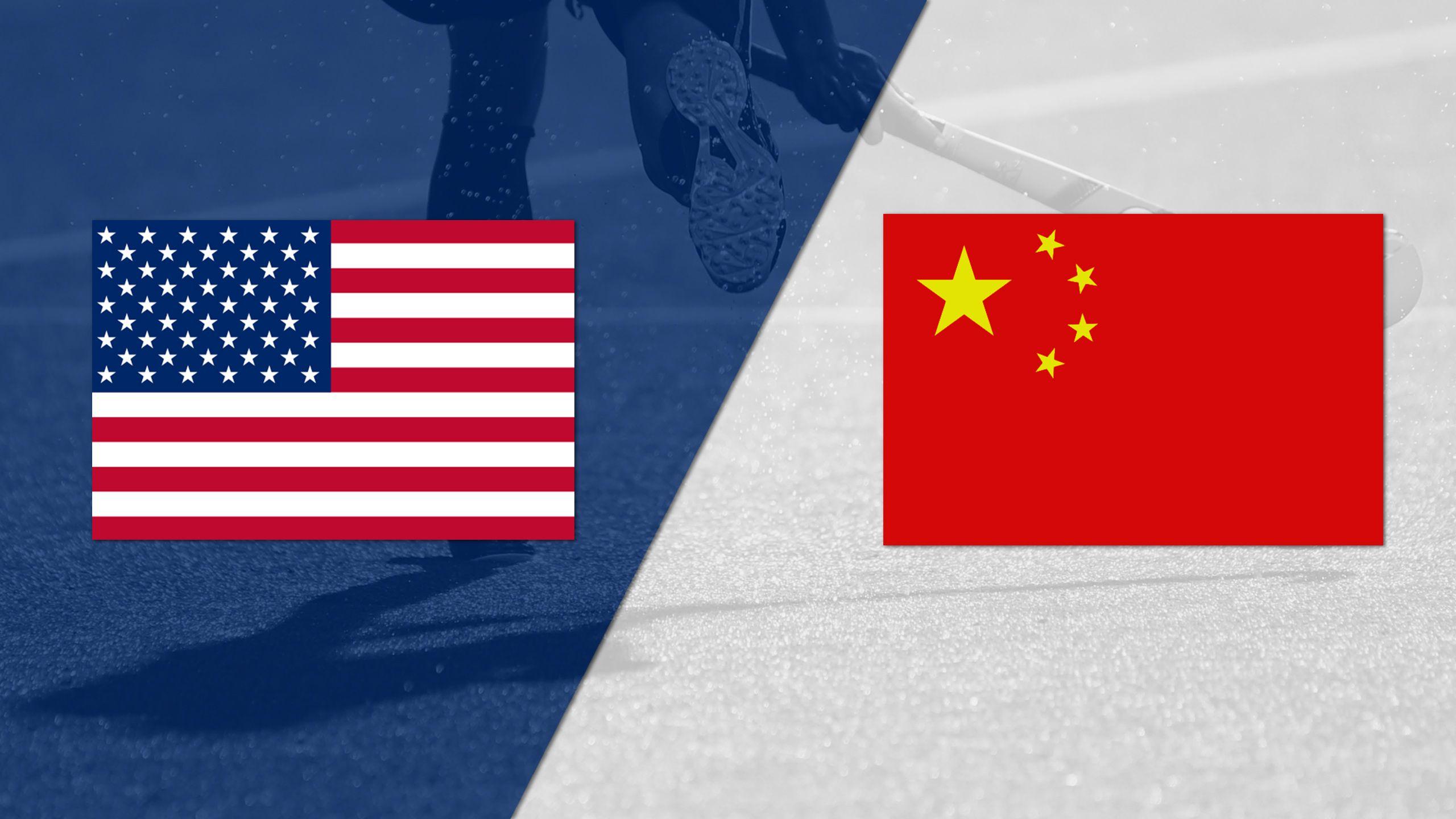 United States vs. China (Women's FIH World League)