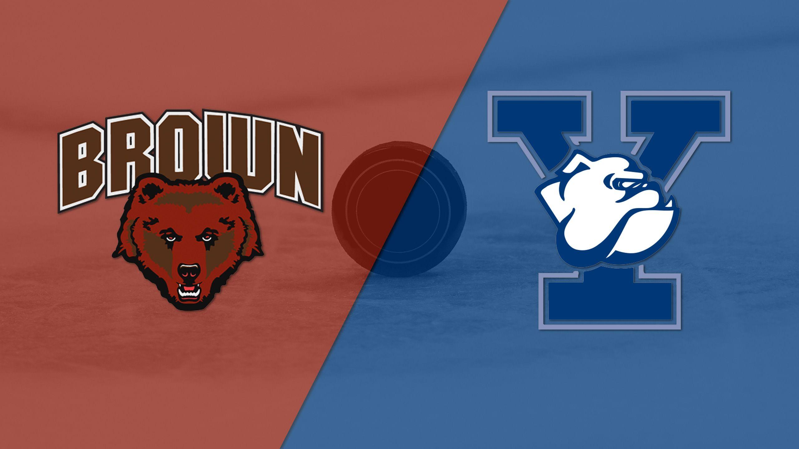 Brown vs. Yale (W Hockey)
