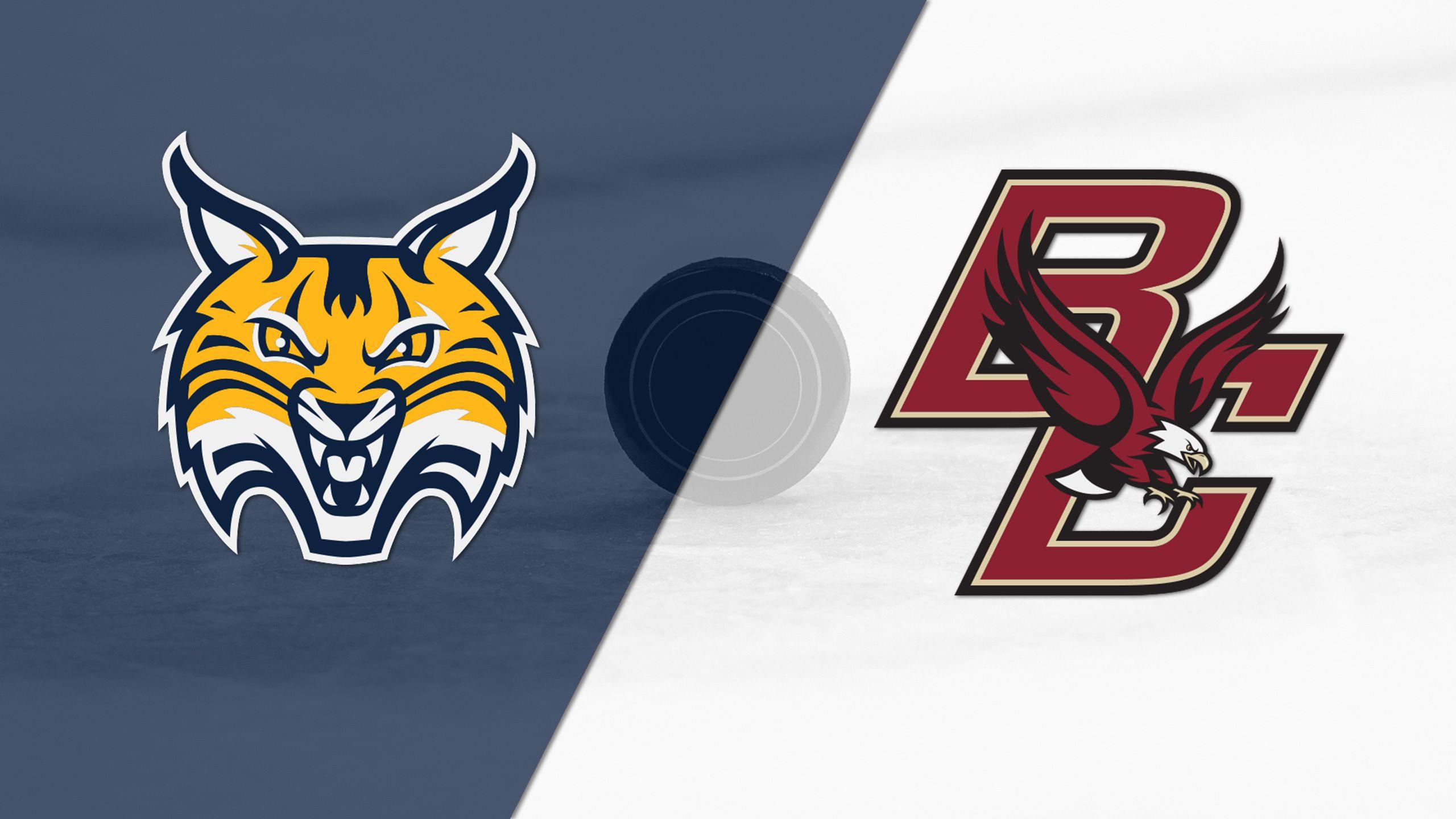 Quinnipiac vs. #3 Boston College (W Hockey)
