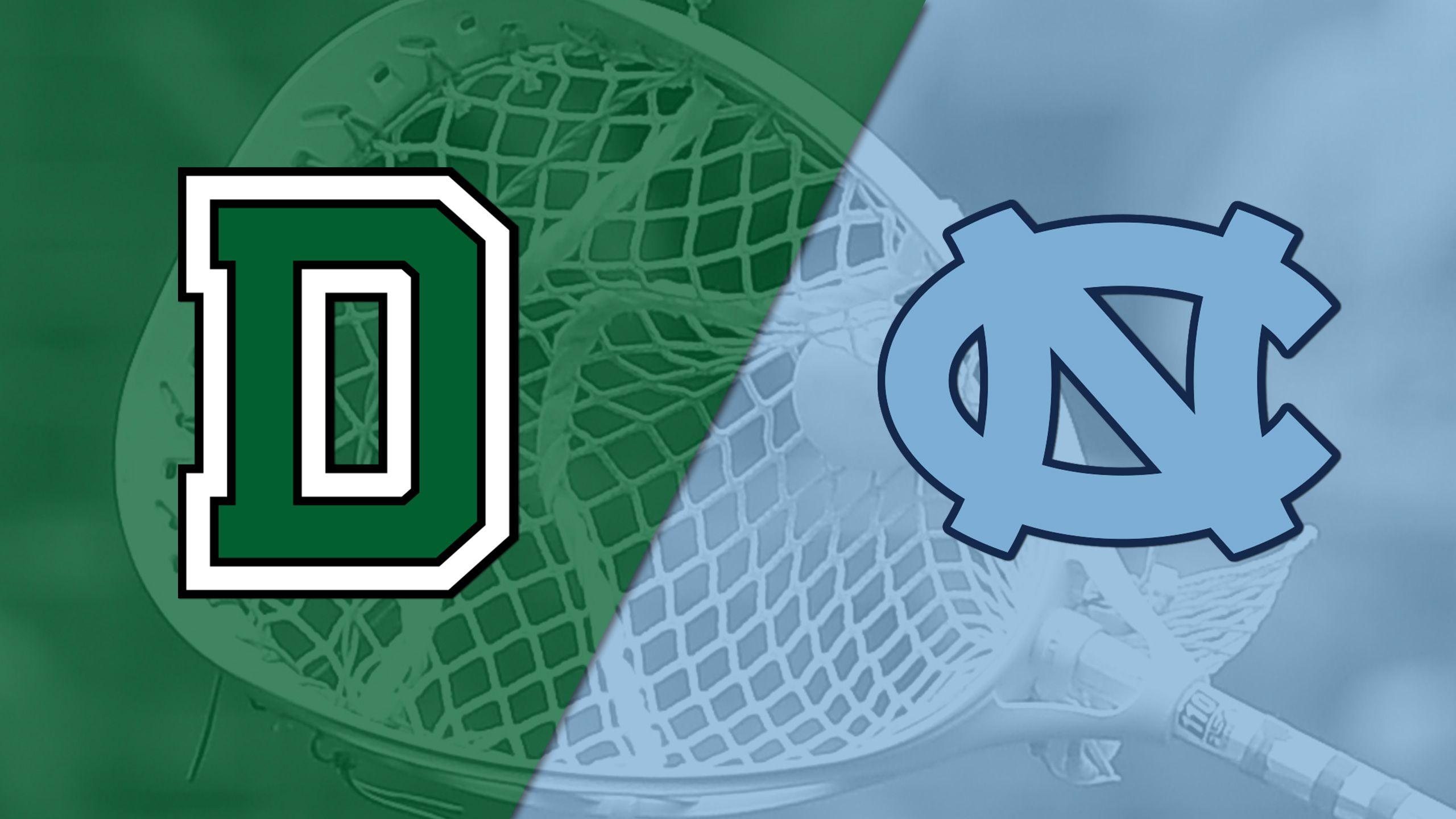 Dartmouth vs. #9 North Carolina (M Lacrosse)