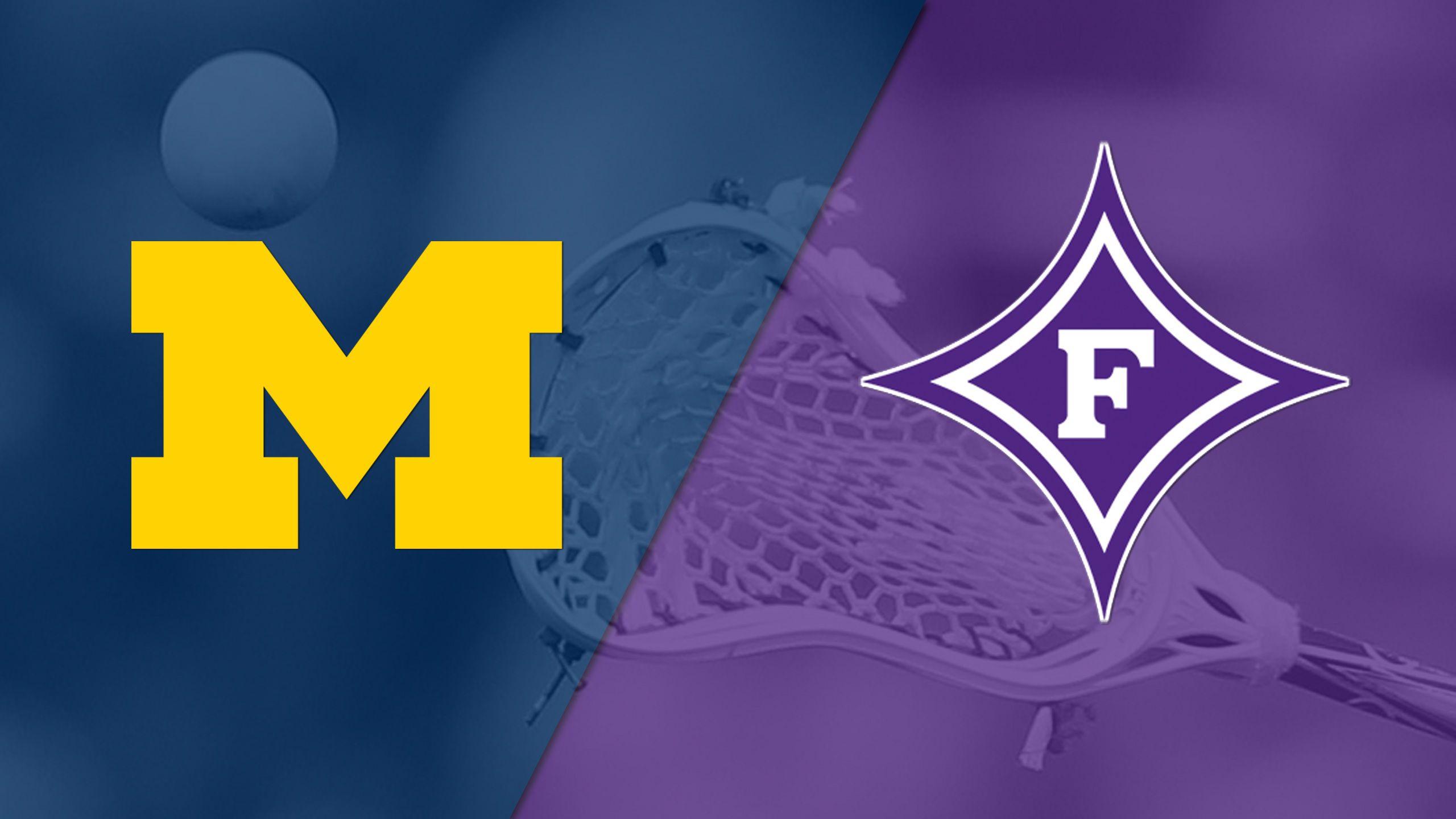 Michigan vs. Furman (M Lacrosse)