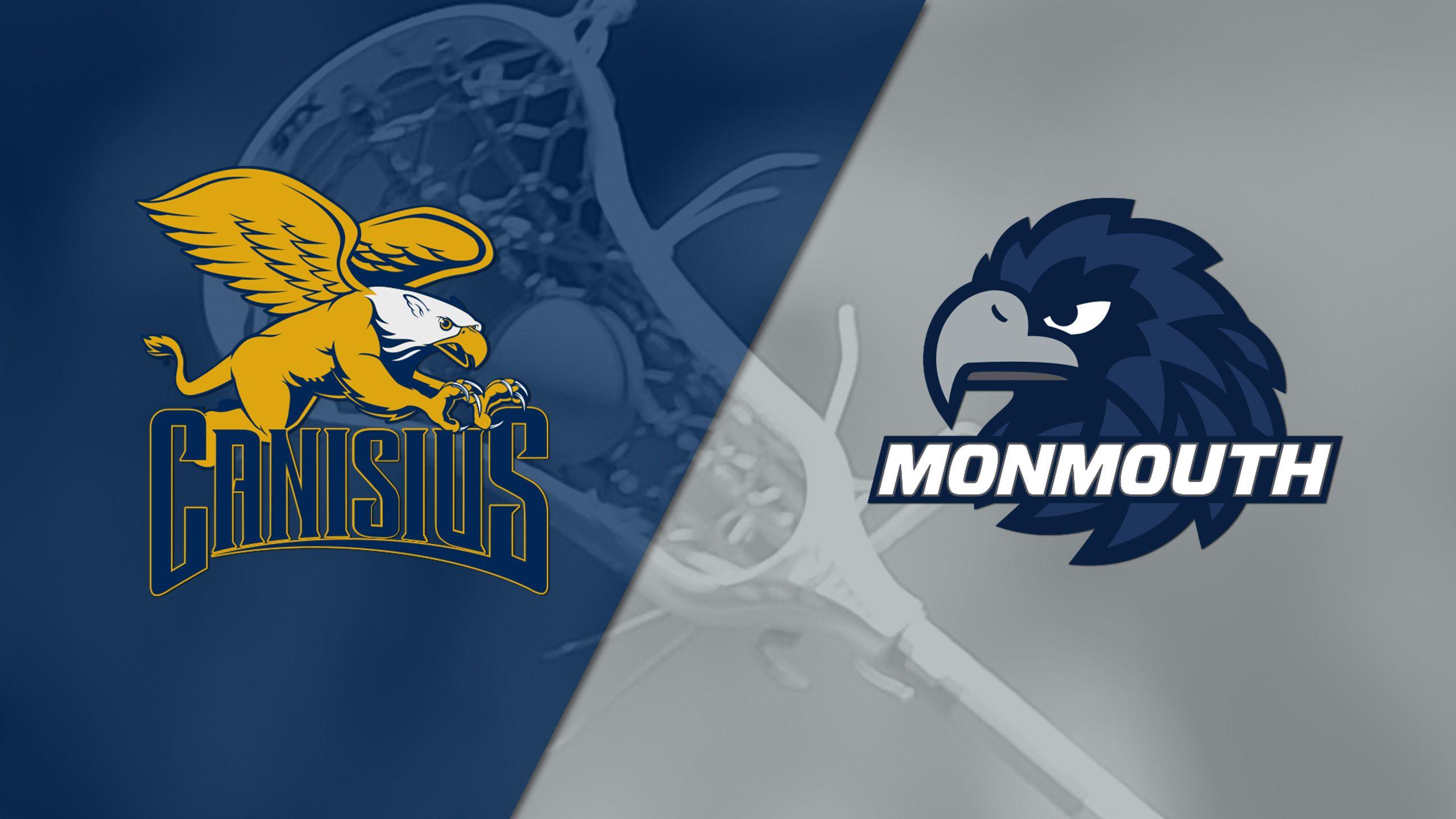 Canisius vs. Monmouth (M Lacrosse)
