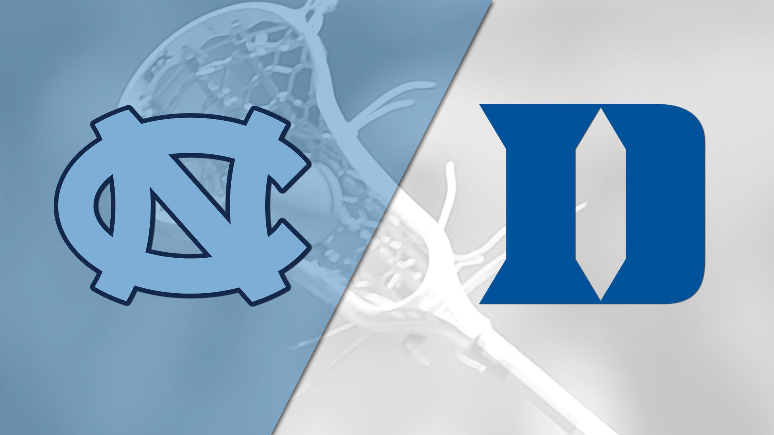 #4 North Carolina vs. Duke (W Lacrosse)