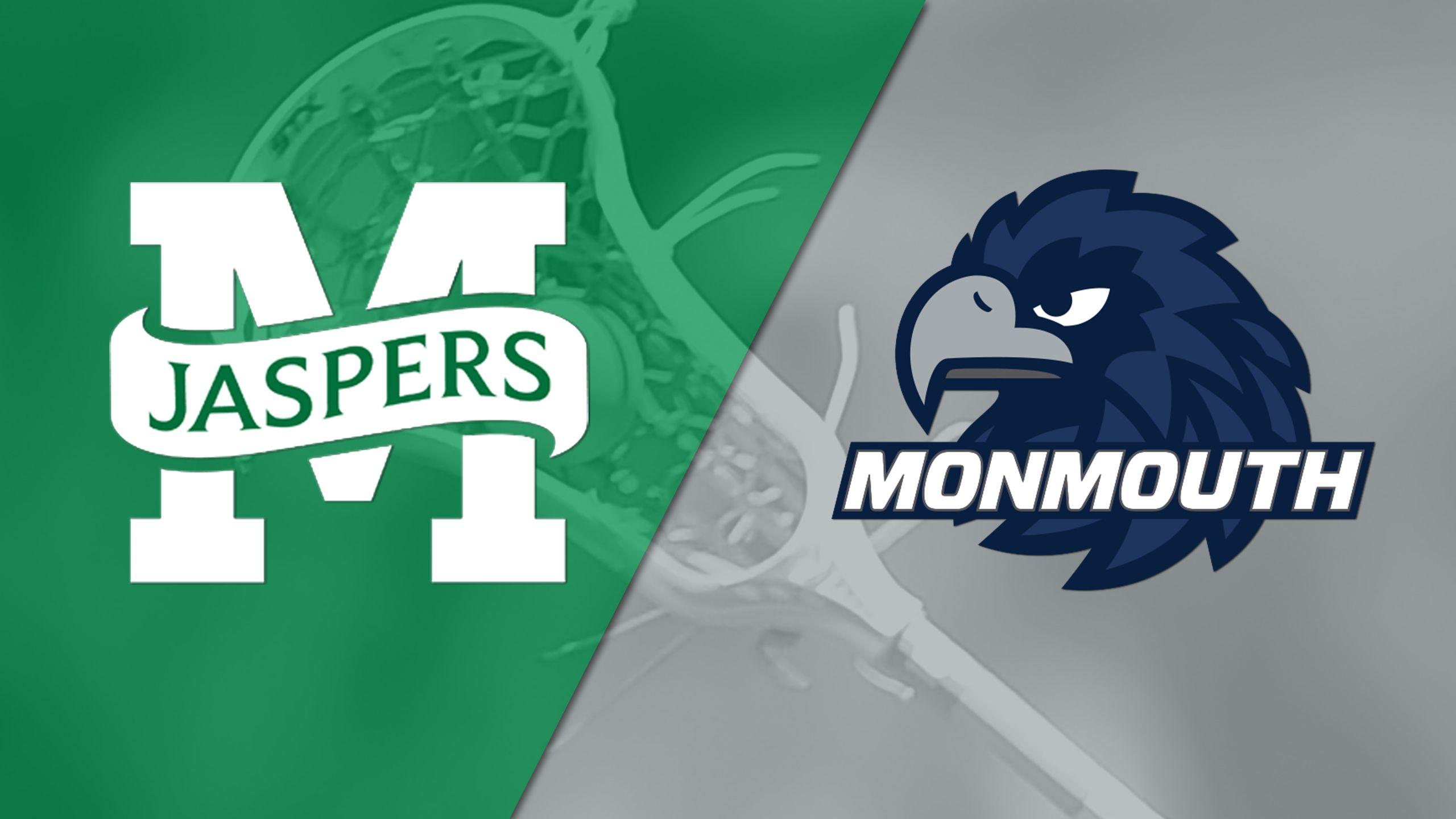 Manhattan vs. Monmouth (W Lacrosse)