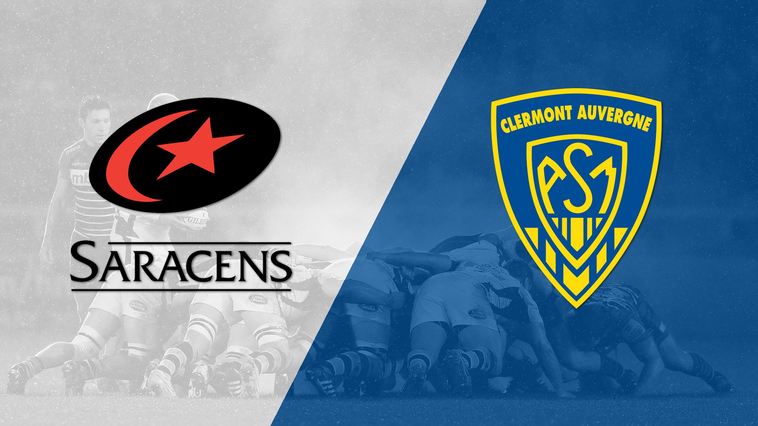 Saracens vs. Asm Clermont Auvergne (Round 3) (European Rugby Championship Cup)