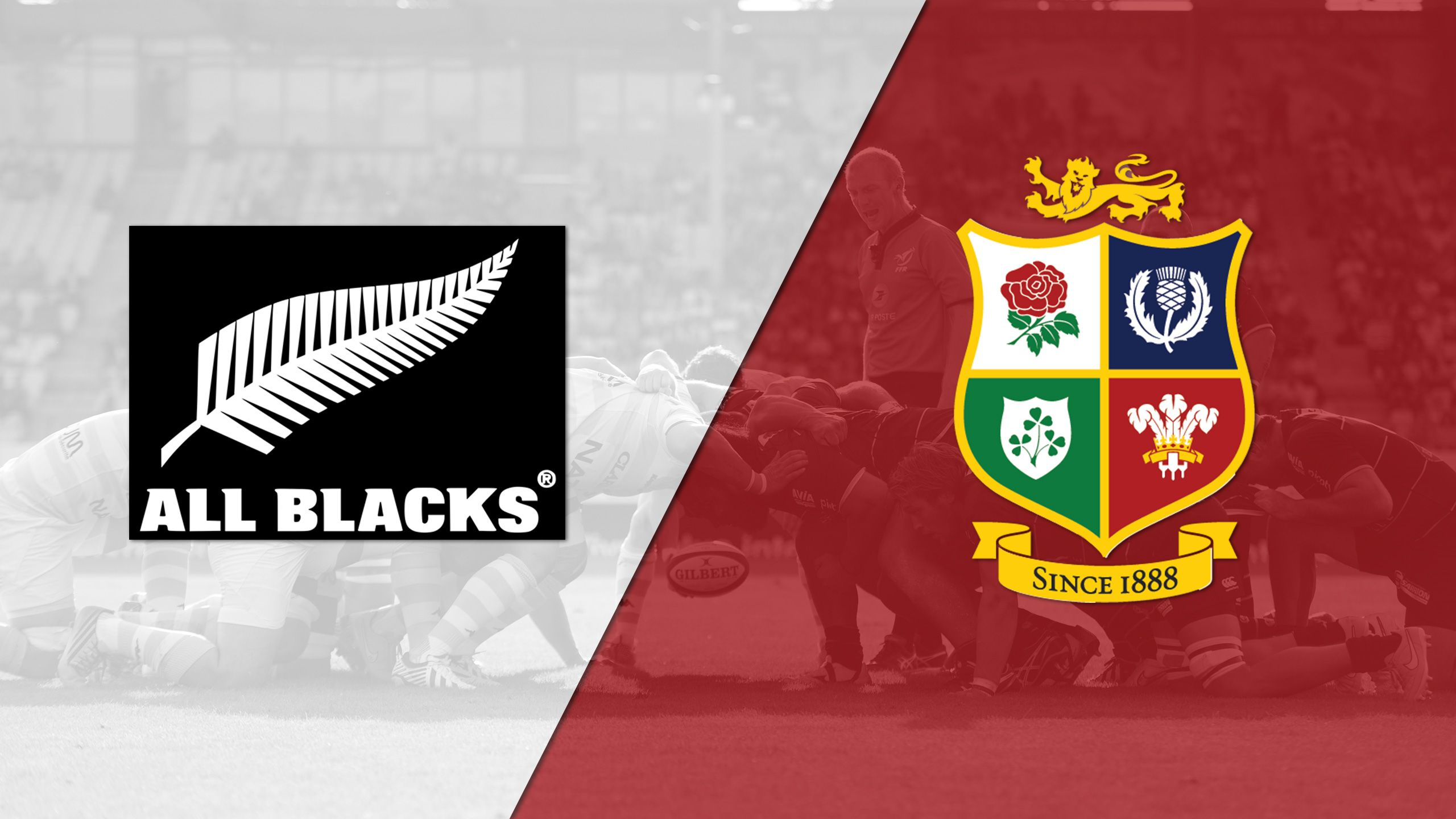 New Zealand All-Blacks vs. British & Irish Lions (International Rugby)